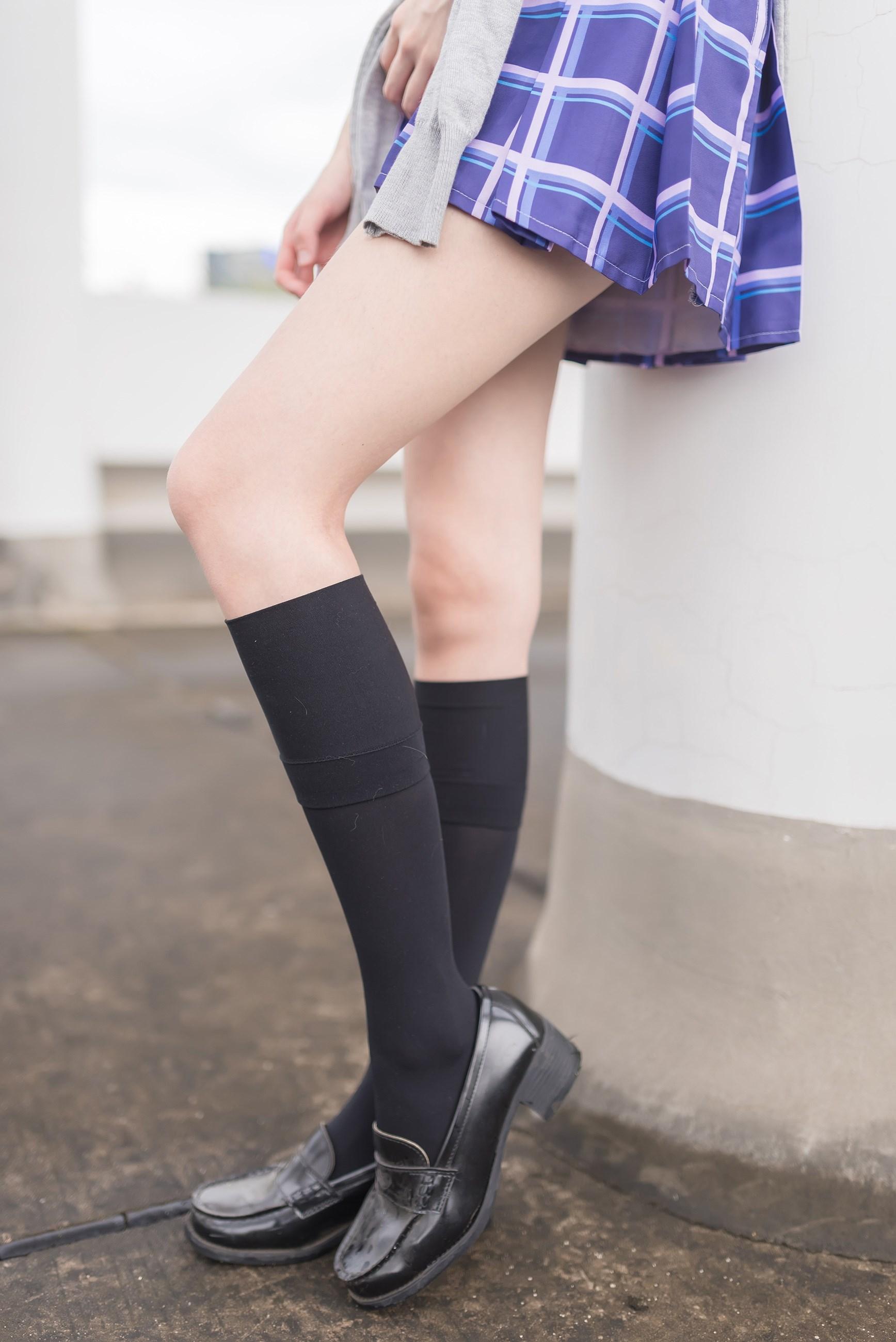 【兔玩映画】天台的蓝裙少女 兔玩映画 第11张