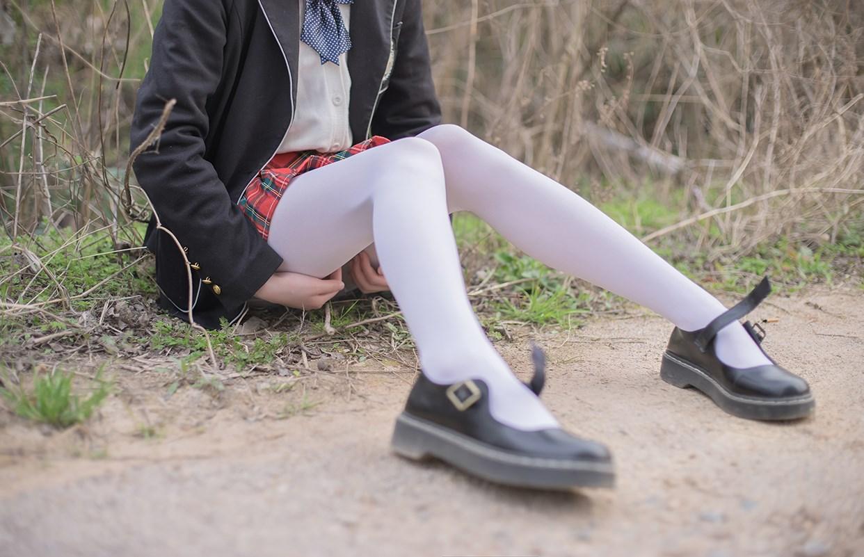 【兔玩映画】白丝萝莉腿竟然这么长! 兔玩映画 第35张