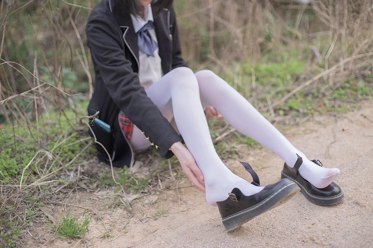 【兔玩映画】白丝萝莉腿竟然这么长! 兔玩映画 第34张