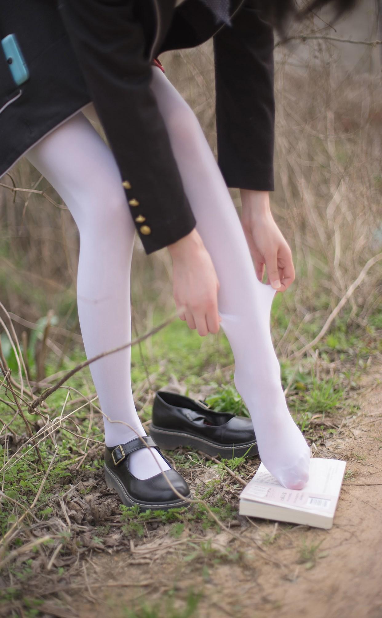【兔玩映画】白丝萝莉腿竟然这么长! 兔玩映画 第26张