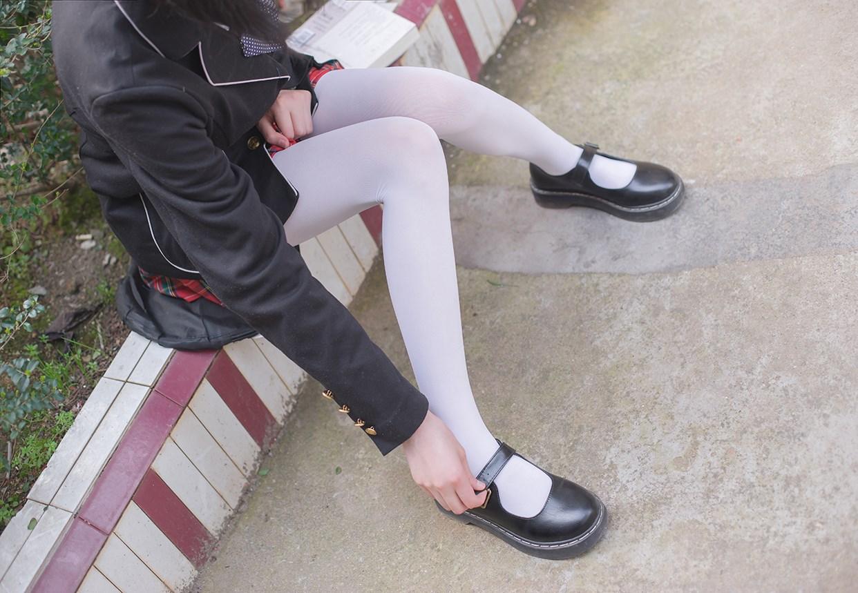 【兔玩映画】白丝萝莉腿竟然这么长! 兔玩映画 第18张