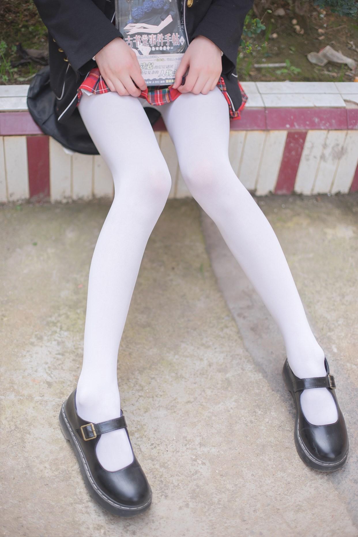 【兔玩映画】白丝萝莉腿竟然这么长! 兔玩映画 第13张