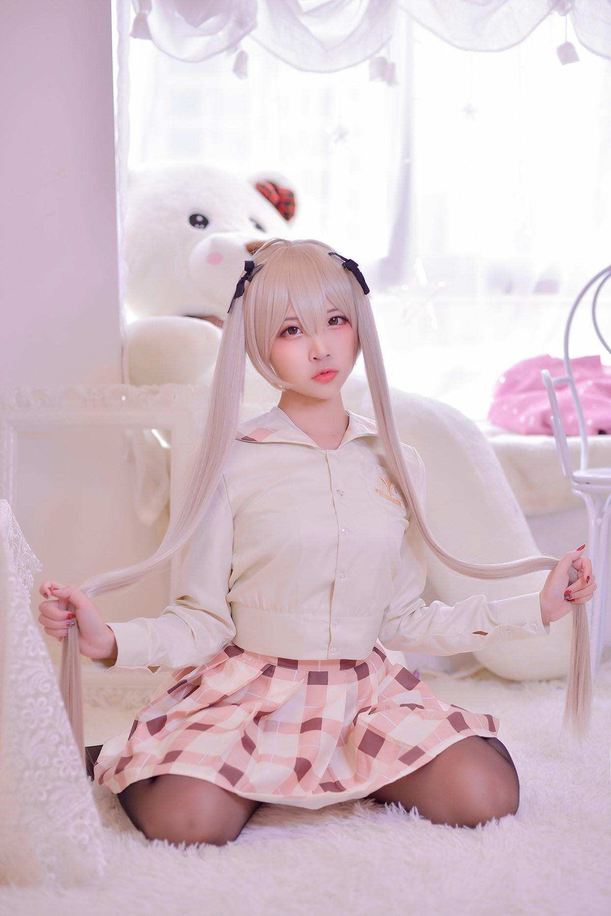 【兔玩映画】穹妹校服 兔玩映画 第4张