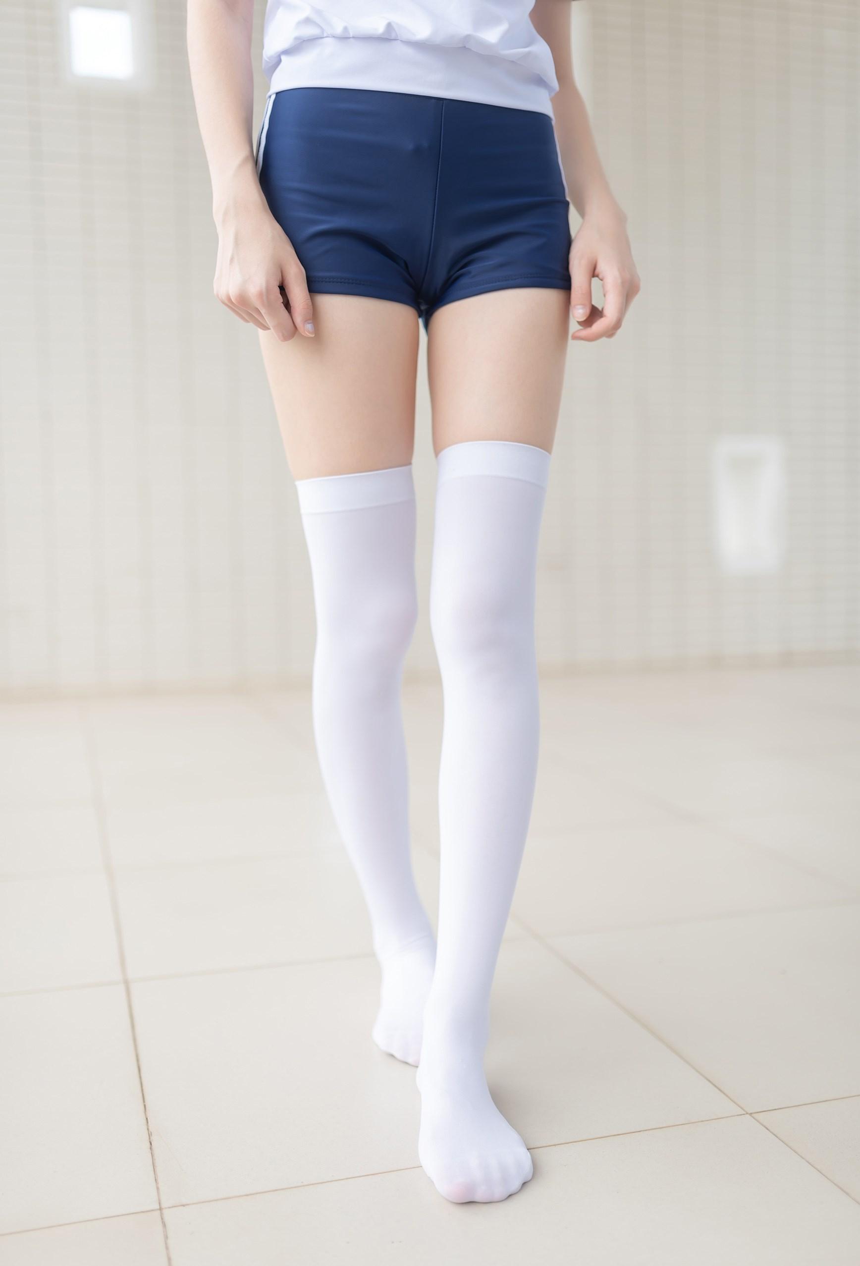 【兔玩映画】在教室门前穿体操服 兔玩映画 第36张