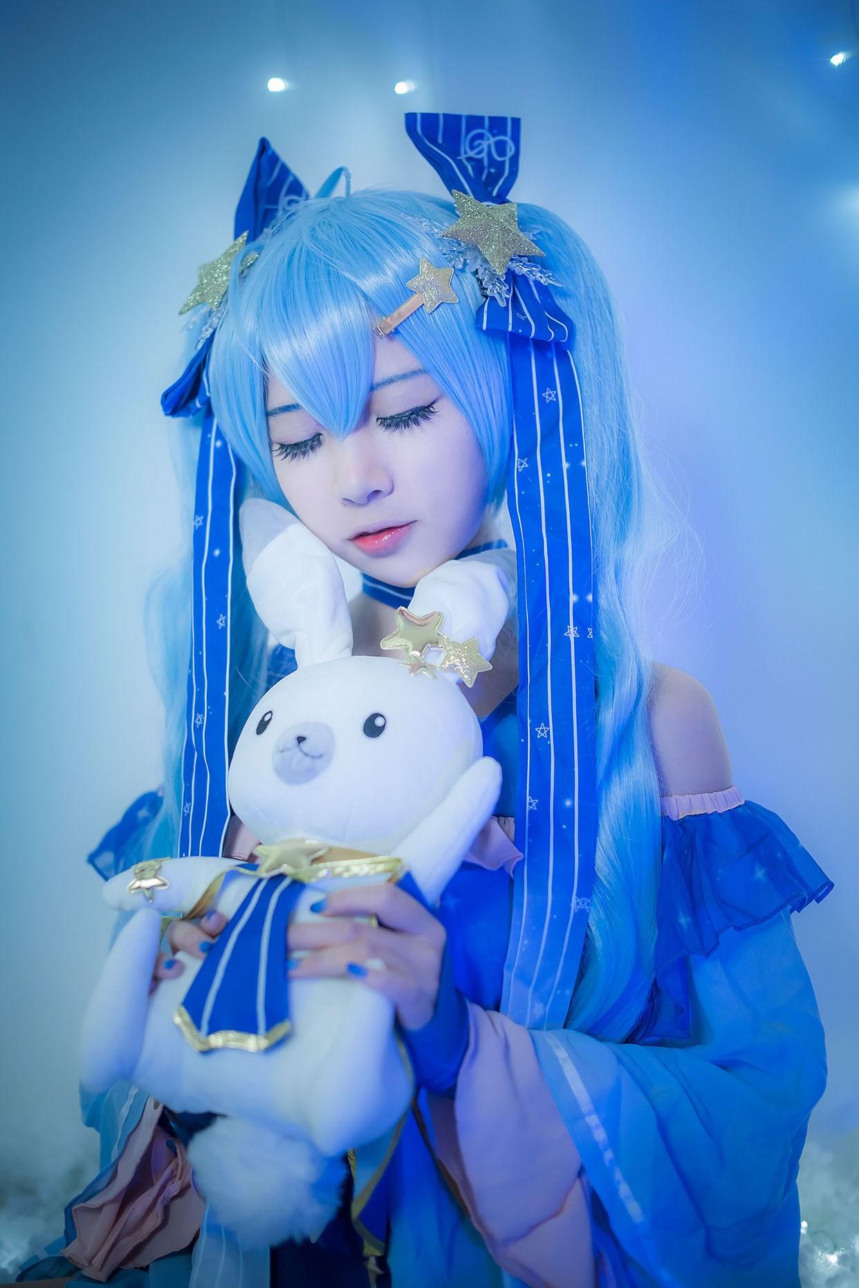 【兔玩映画】体操服穹妹与初音未来 兔玩映画 第40张