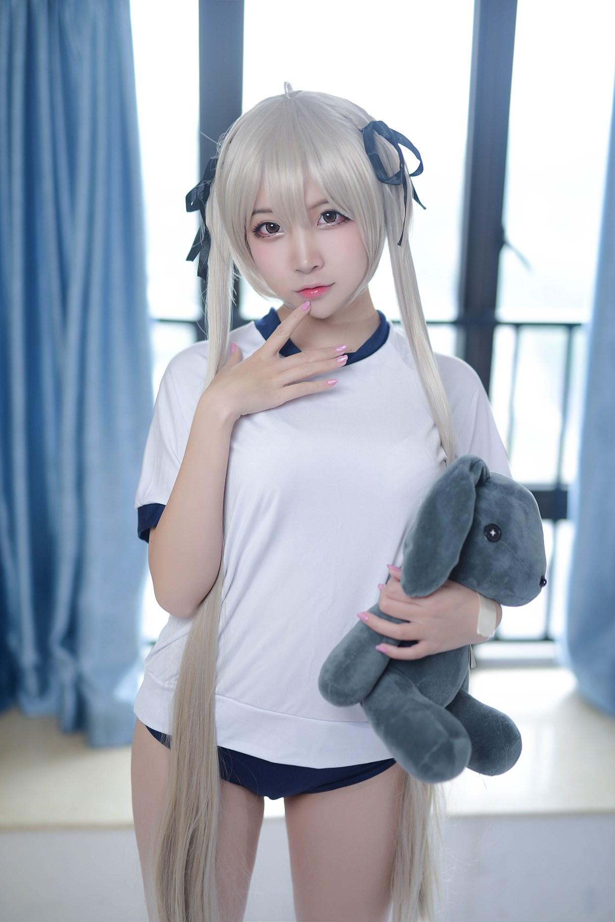 【兔玩映画】体操服穹妹与初音未来 兔玩映画 第29张