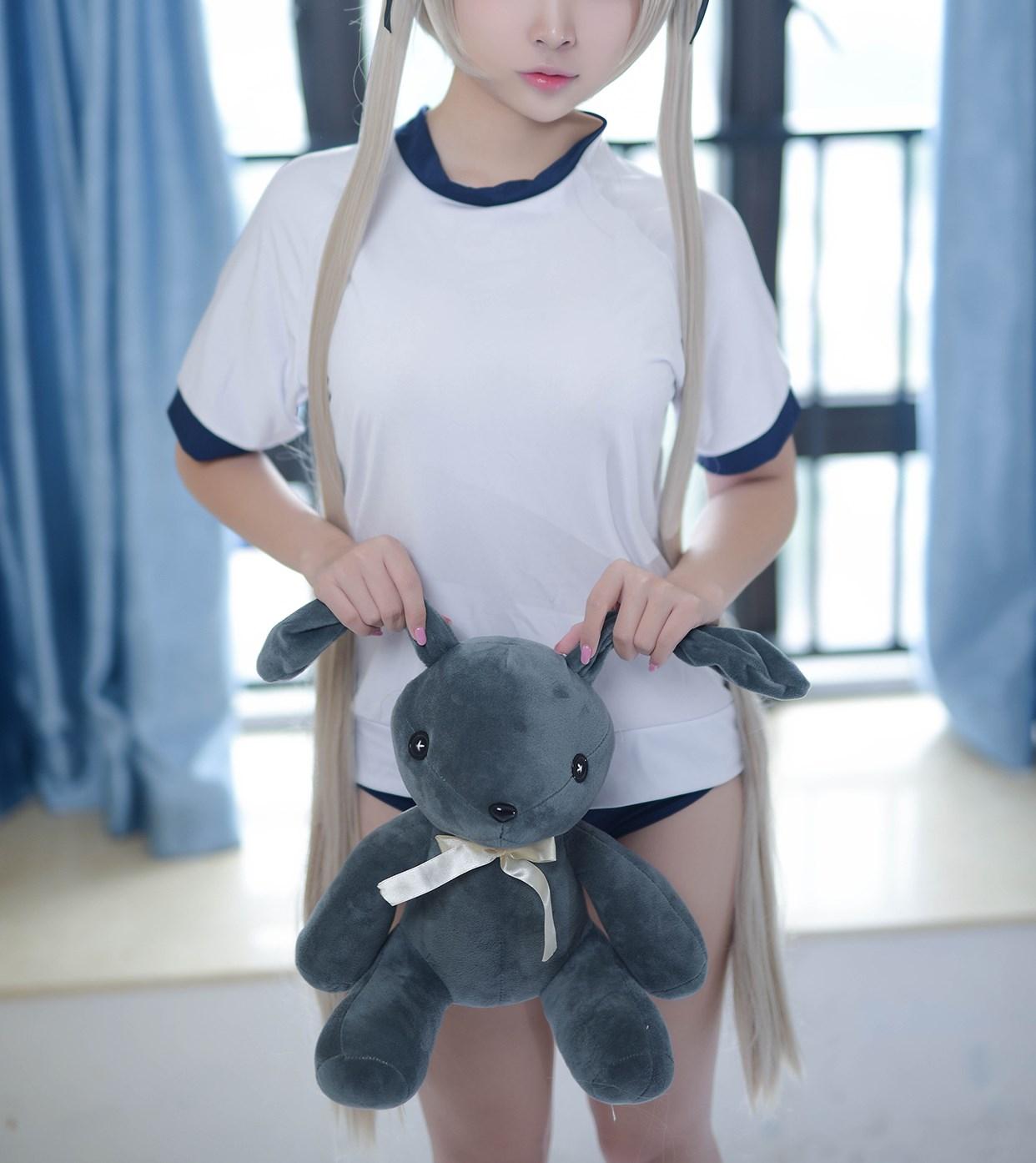 【兔玩映画】体操服穹妹与初音未来 兔玩映画 第28张