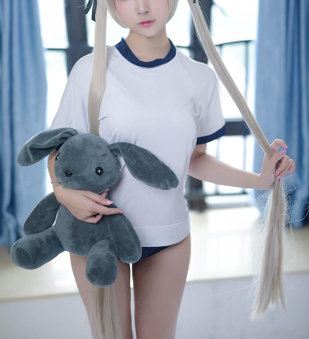 【兔玩映画】体操服穹妹与初音未来 兔玩映画 第27张