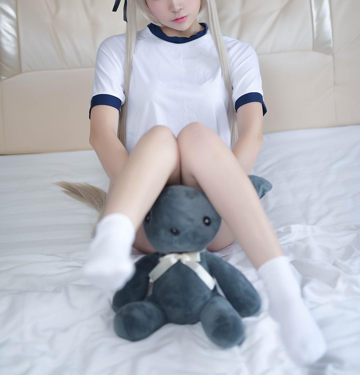 【兔玩映画】体操服穹妹与初音未来 兔玩映画 第21张