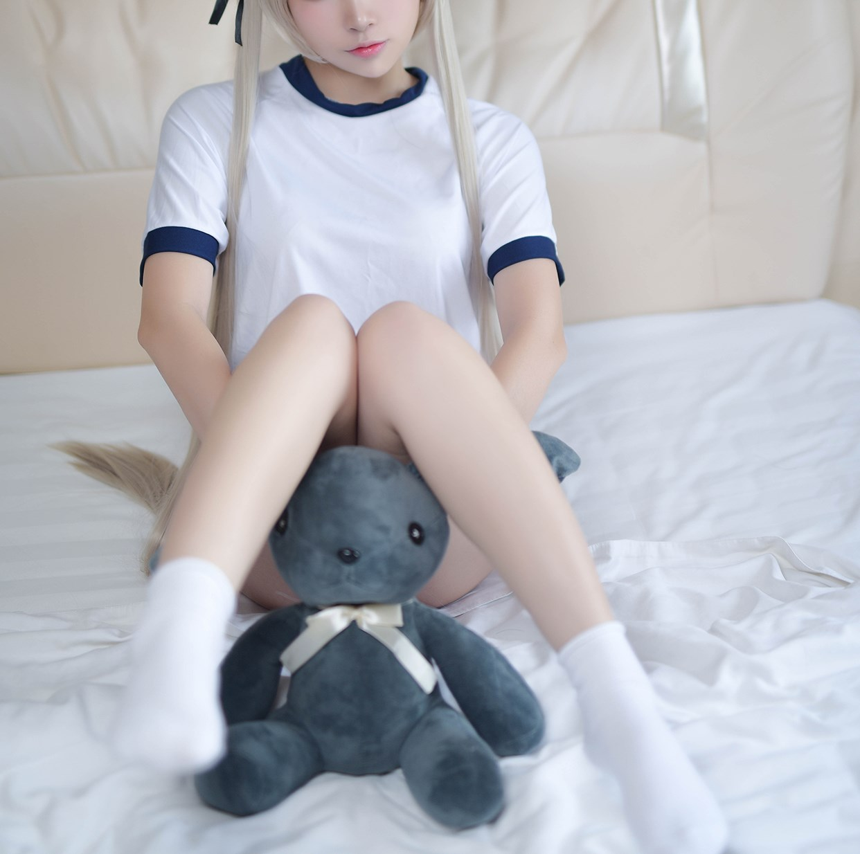 【兔玩映画】体操服穹妹与初音未来 兔玩映画 第20张