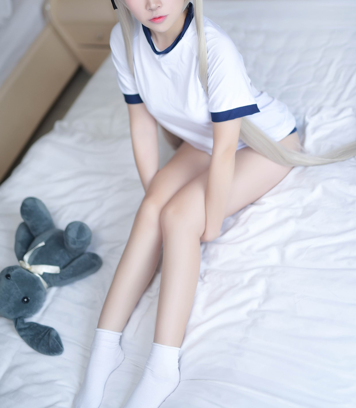 【兔玩映画】体操服穹妹与初音未来 兔玩映画 第11张