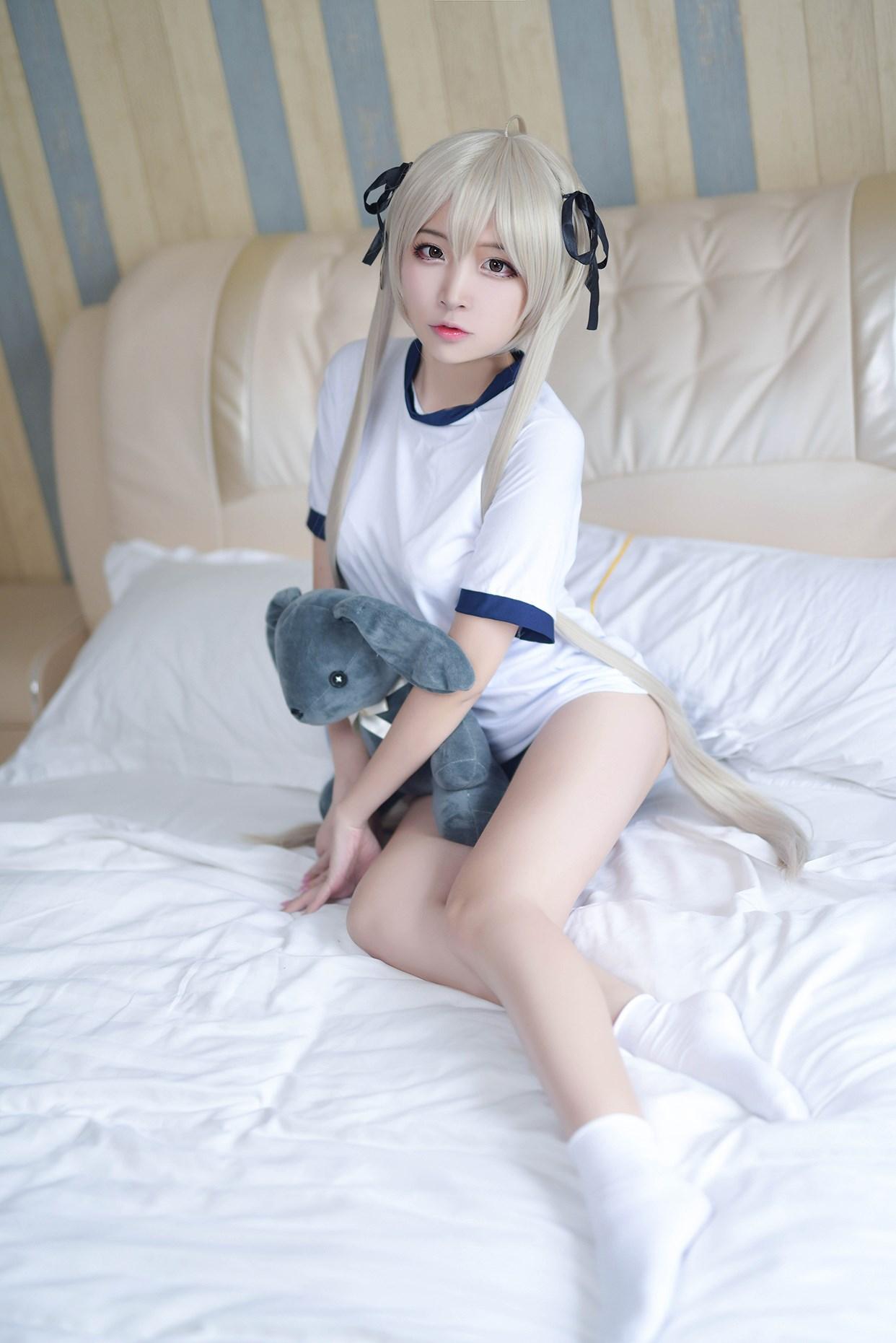 【兔玩映画】体操服穹妹与初音未来 兔玩映画 第9张