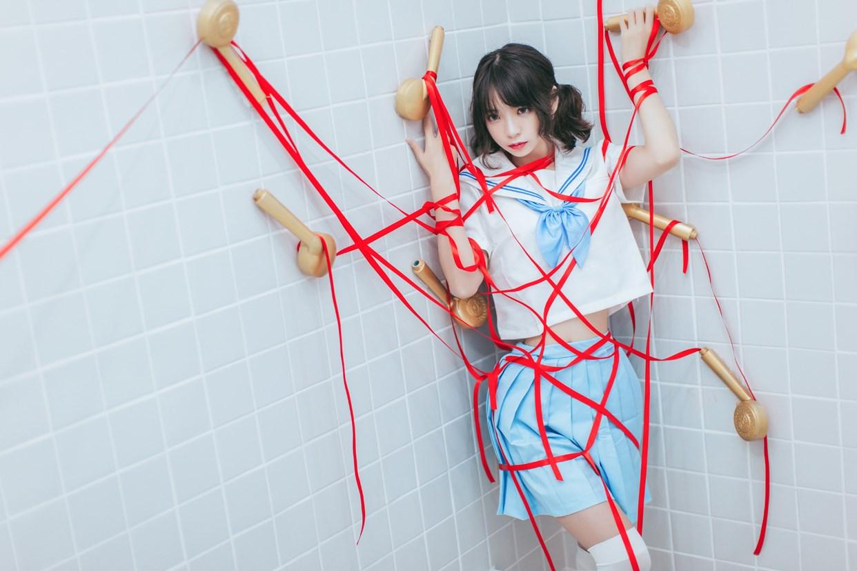 【兔玩映画】睡衣与浴室的水手服 兔玩映画 第42张