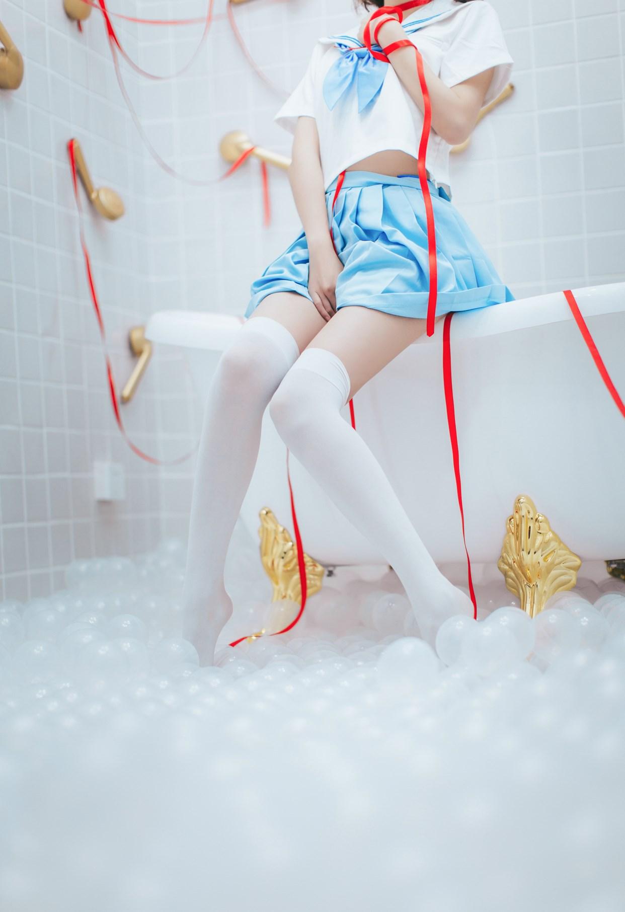 【兔玩映画】睡衣与浴室的水手服 兔玩映画 第40张