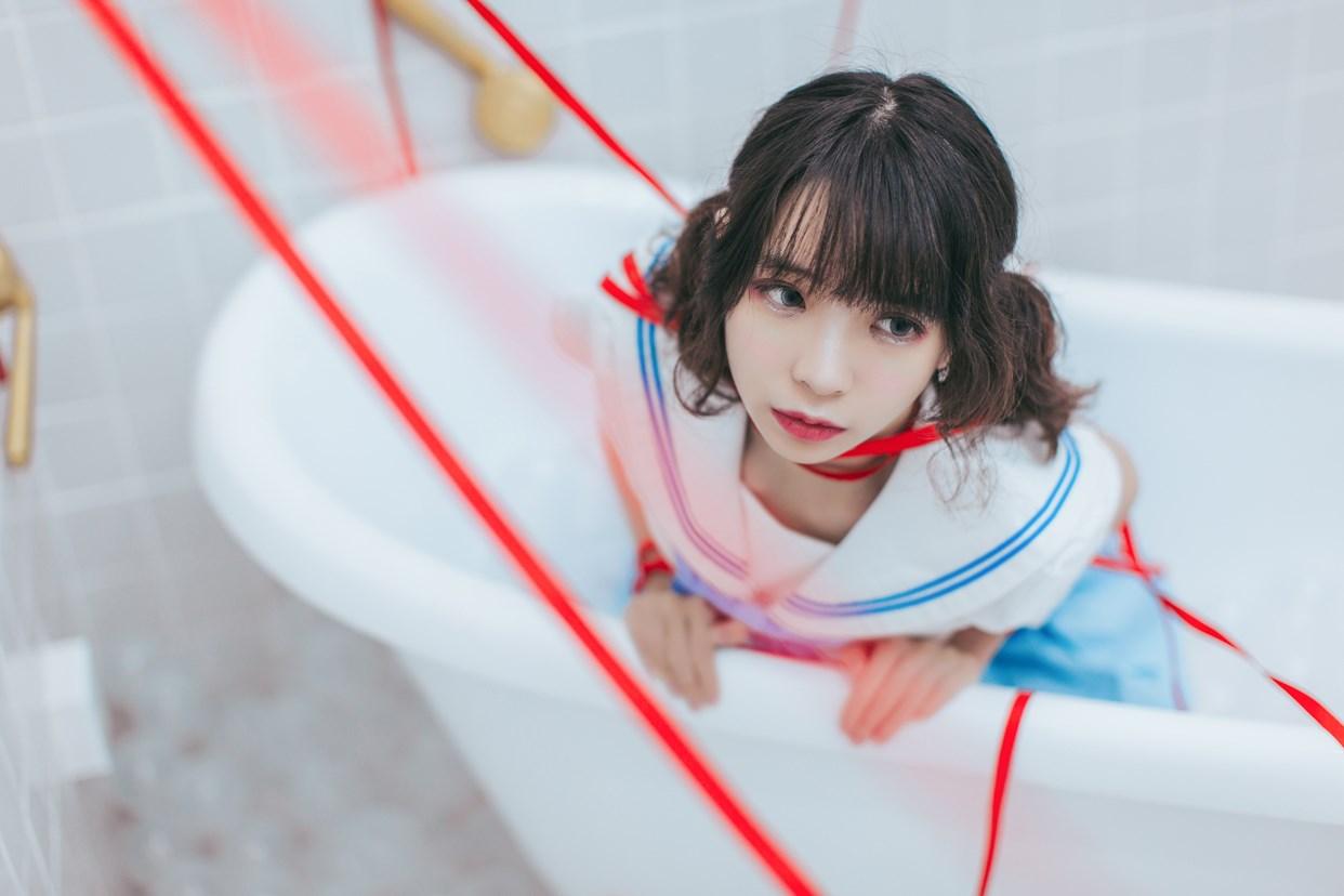 【兔玩映画】睡衣与浴室的水手服 兔玩映画 第31张