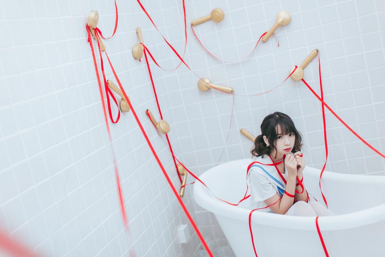 【兔玩映画】睡衣与浴室的水手服 兔玩映画 第27张