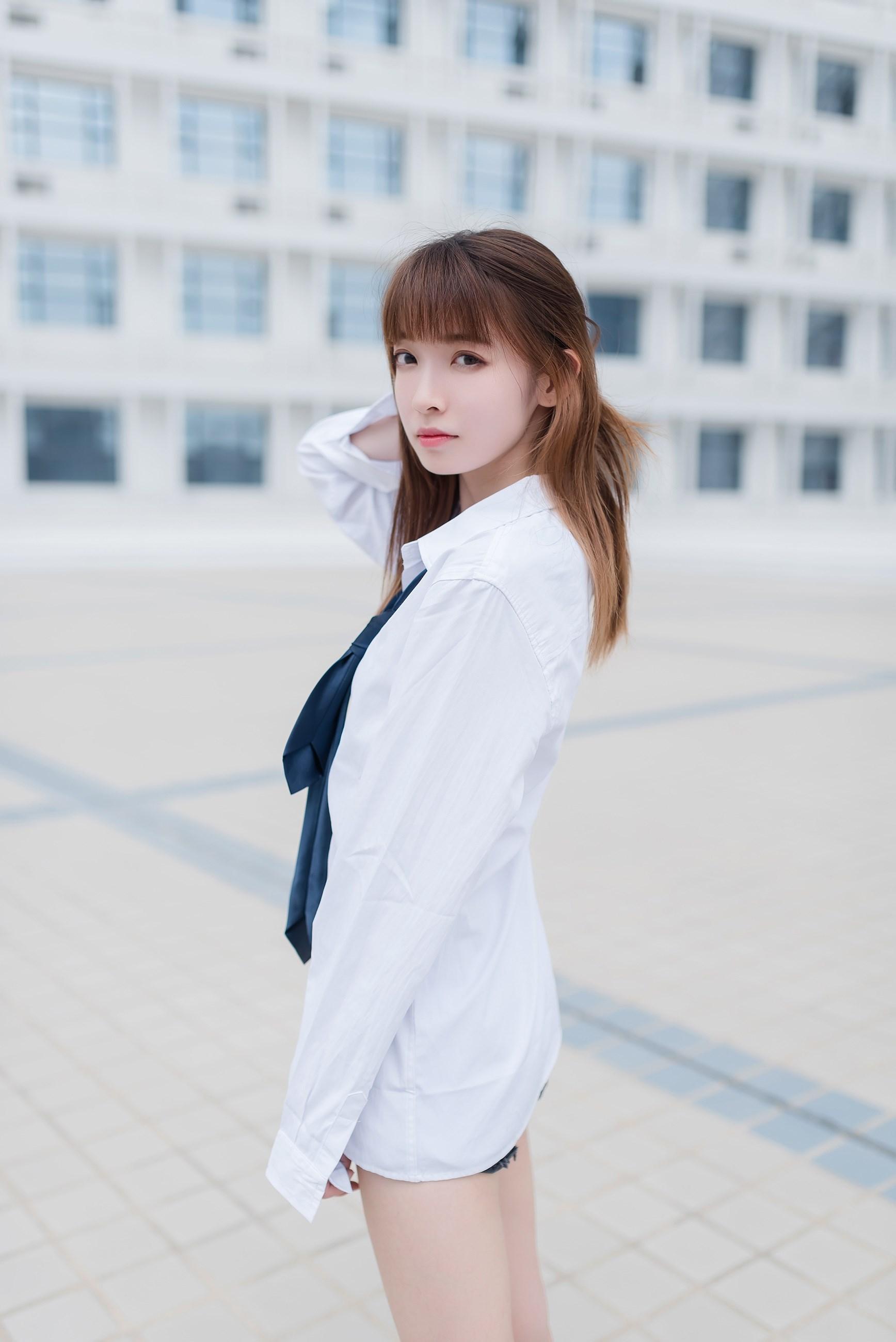 【兔玩映画】裸脚白衬衫 · 足控福利 兔玩映画 第46张