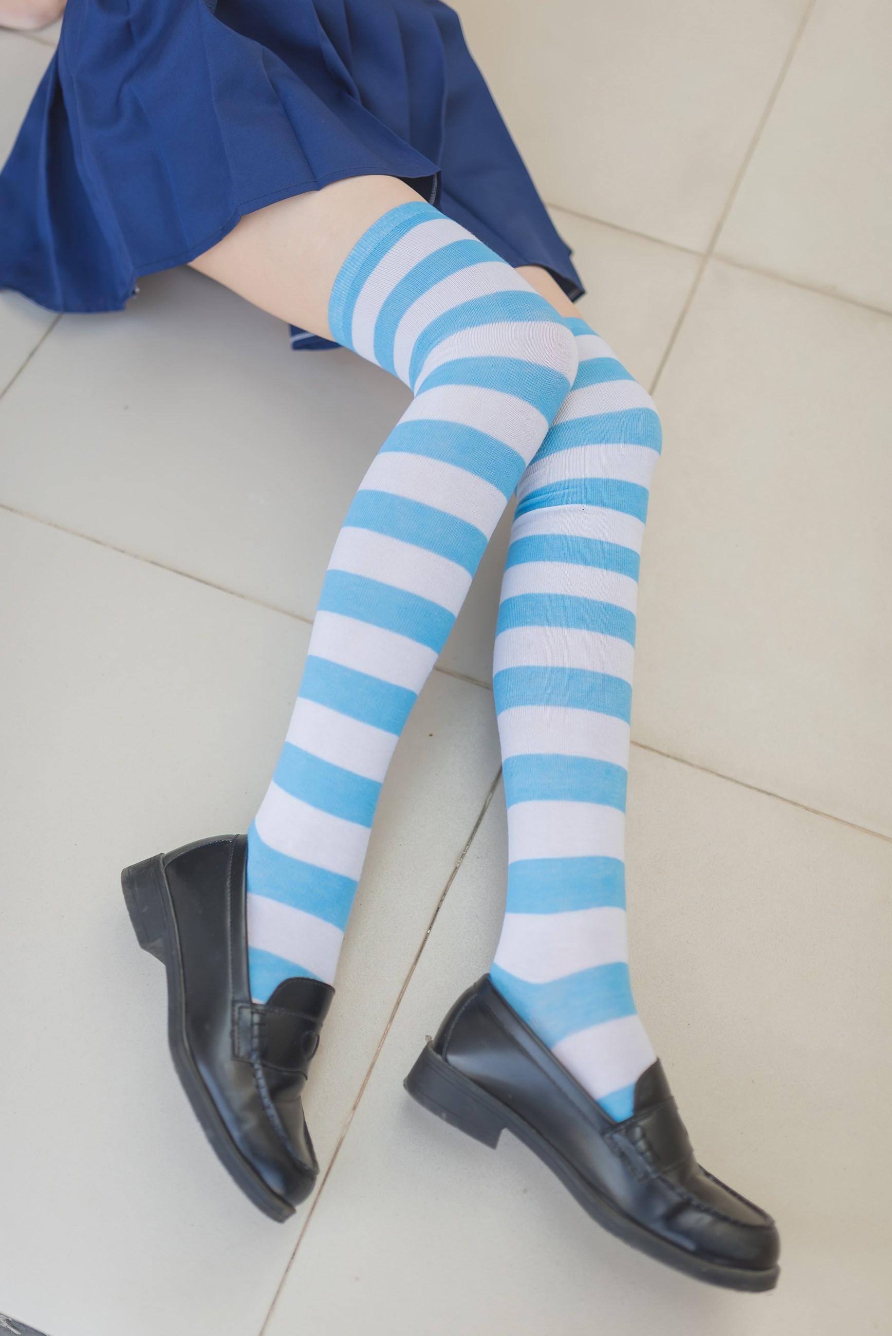 【兔玩映画】蓝白条纹的小细腿 兔玩映画 第34张