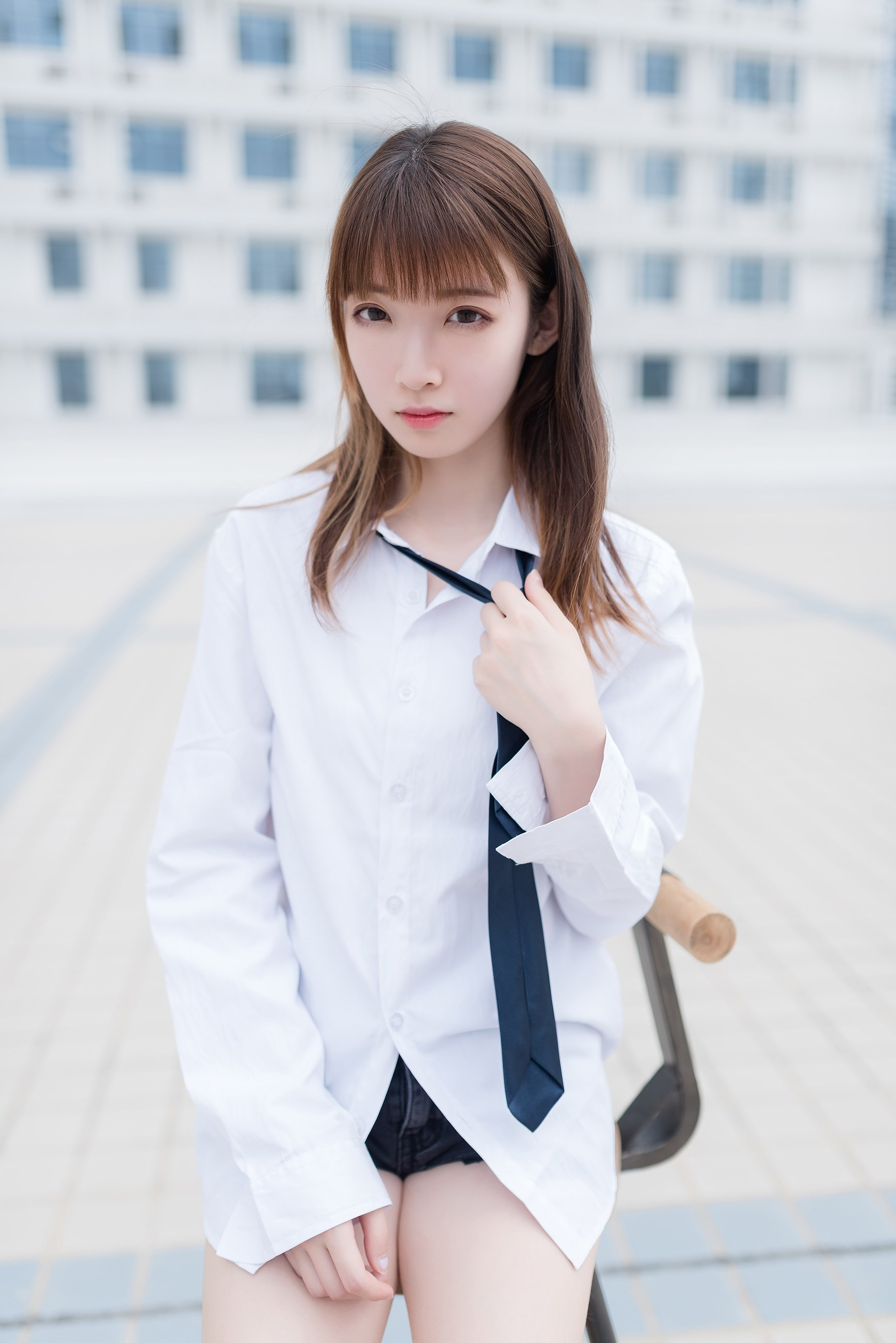 【兔玩映画】裸脚白衬衫 · 足控福利 兔玩映画 第42张