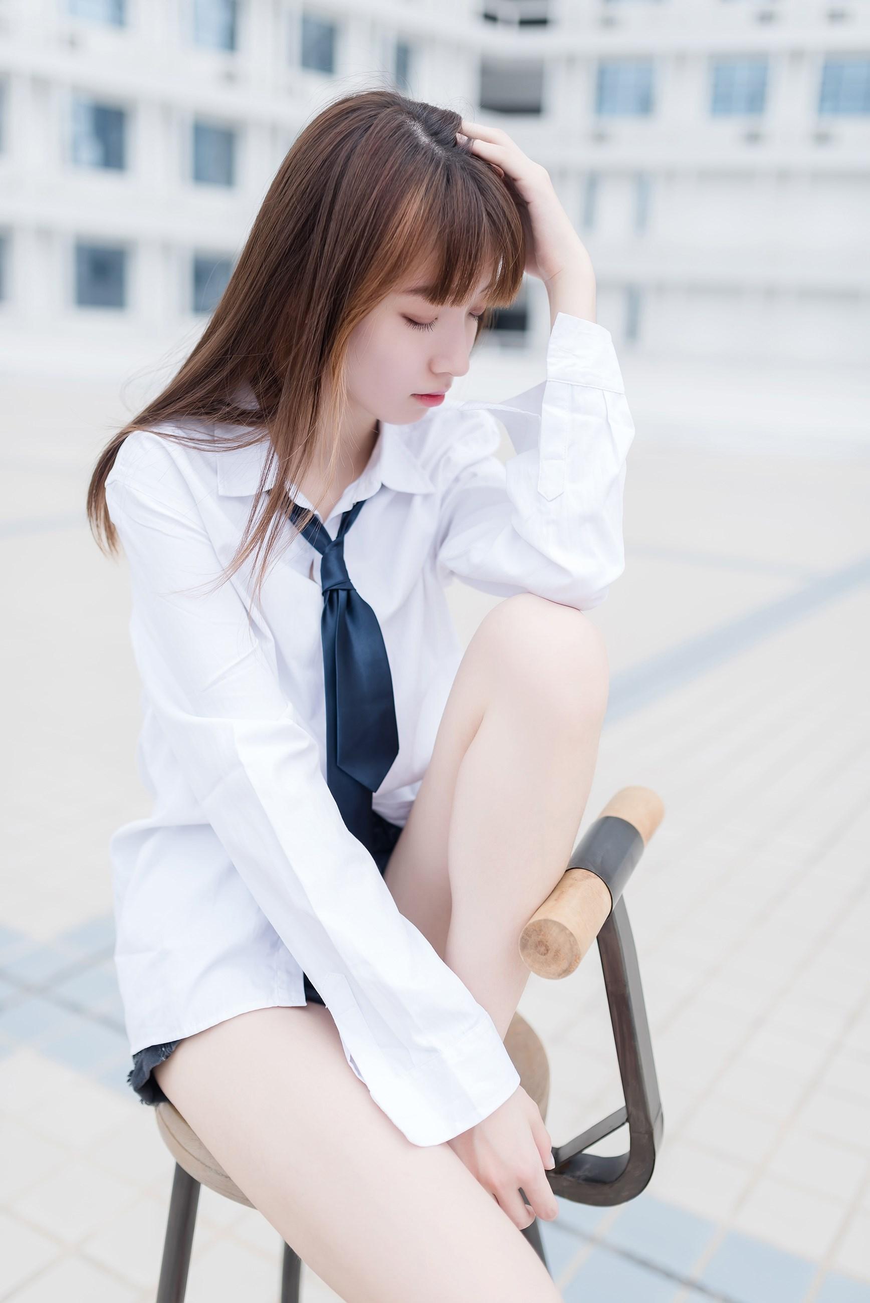 【兔玩映画】裸脚白衬衫 · 足控福利 兔玩映画 第41张