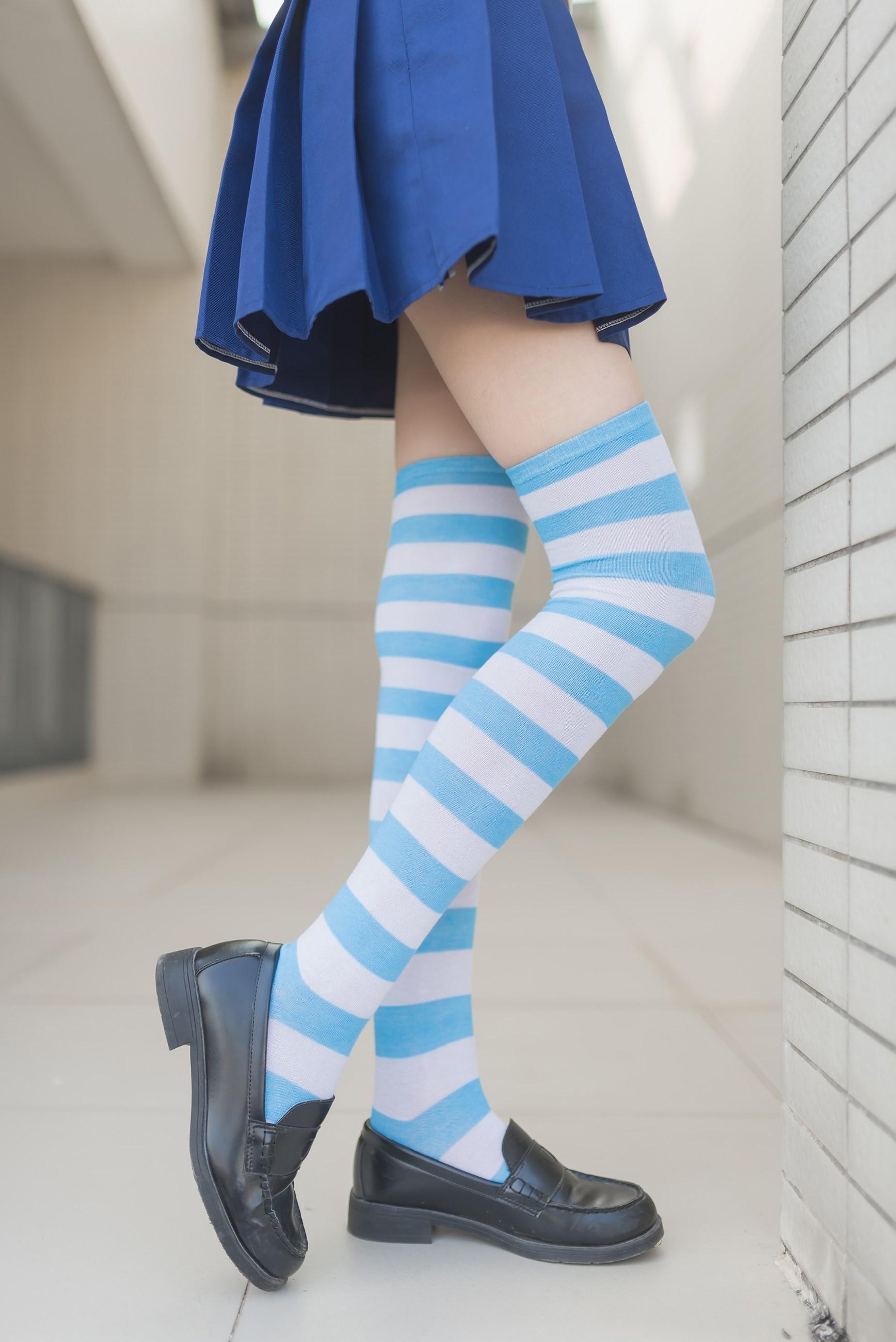 【兔玩映画】蓝白条纹的小细腿 兔玩映画 第25张