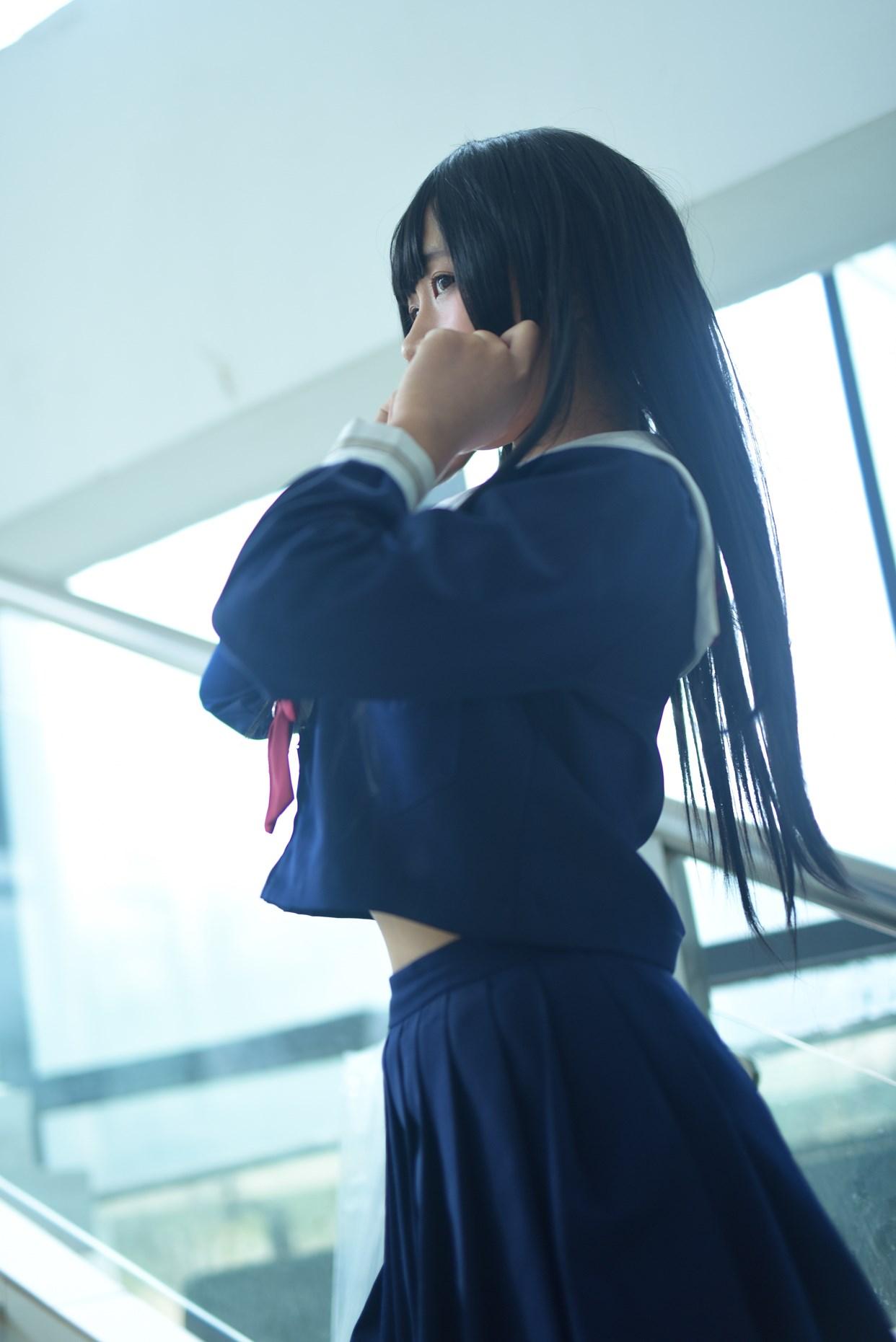 【兔玩映画】黑丝JK 兔玩映画 第46张