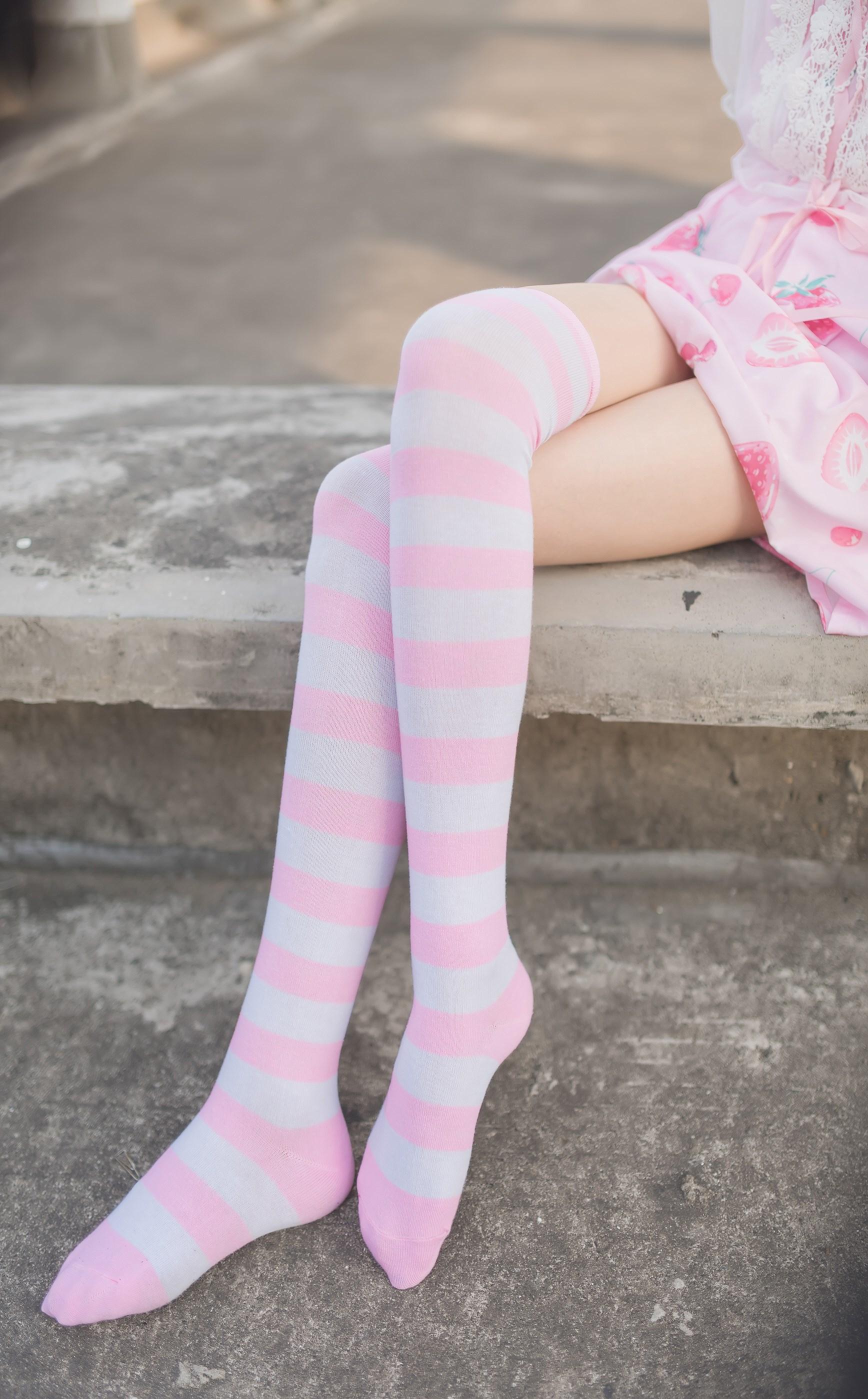 【兔玩映画】粉白条纹 兔玩映画 第45张