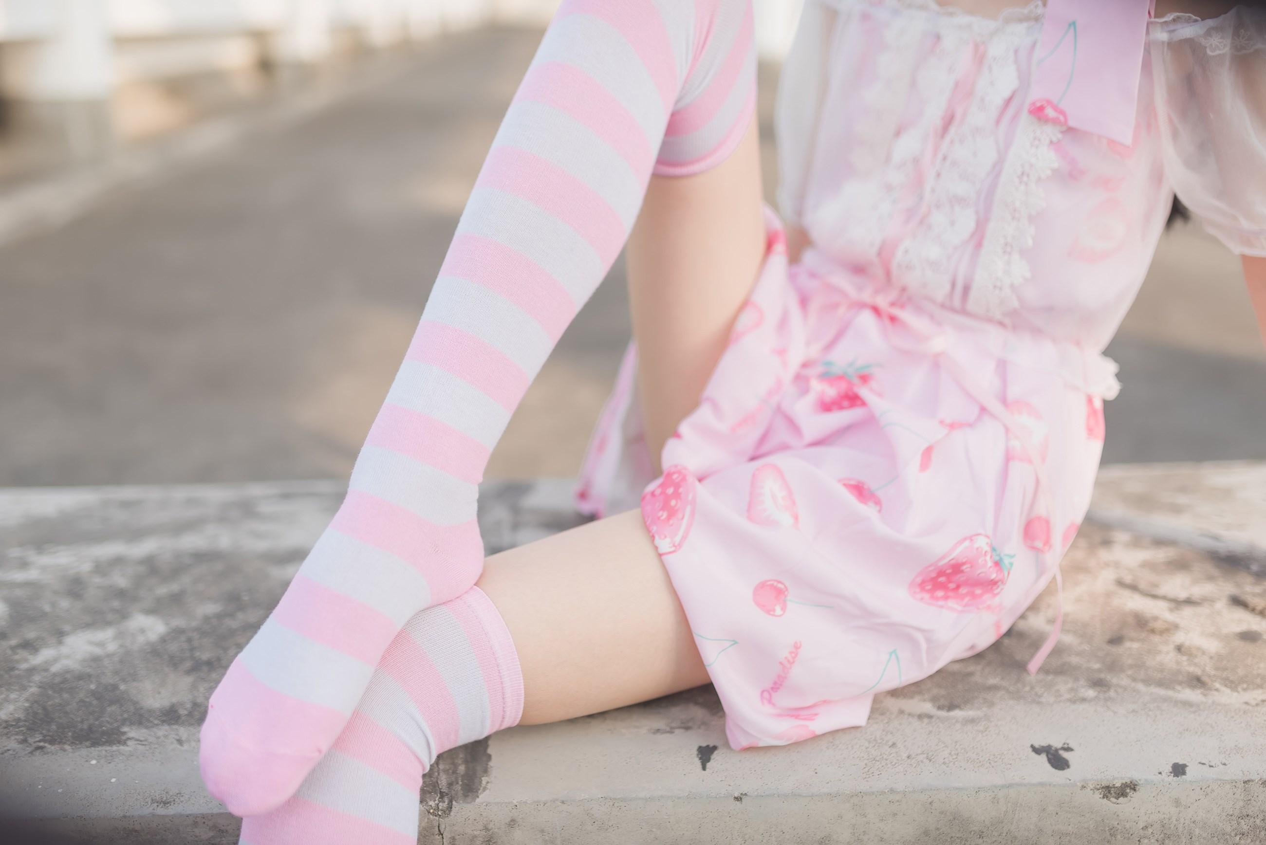 【兔玩映画】粉白条纹 兔玩映画 第44张