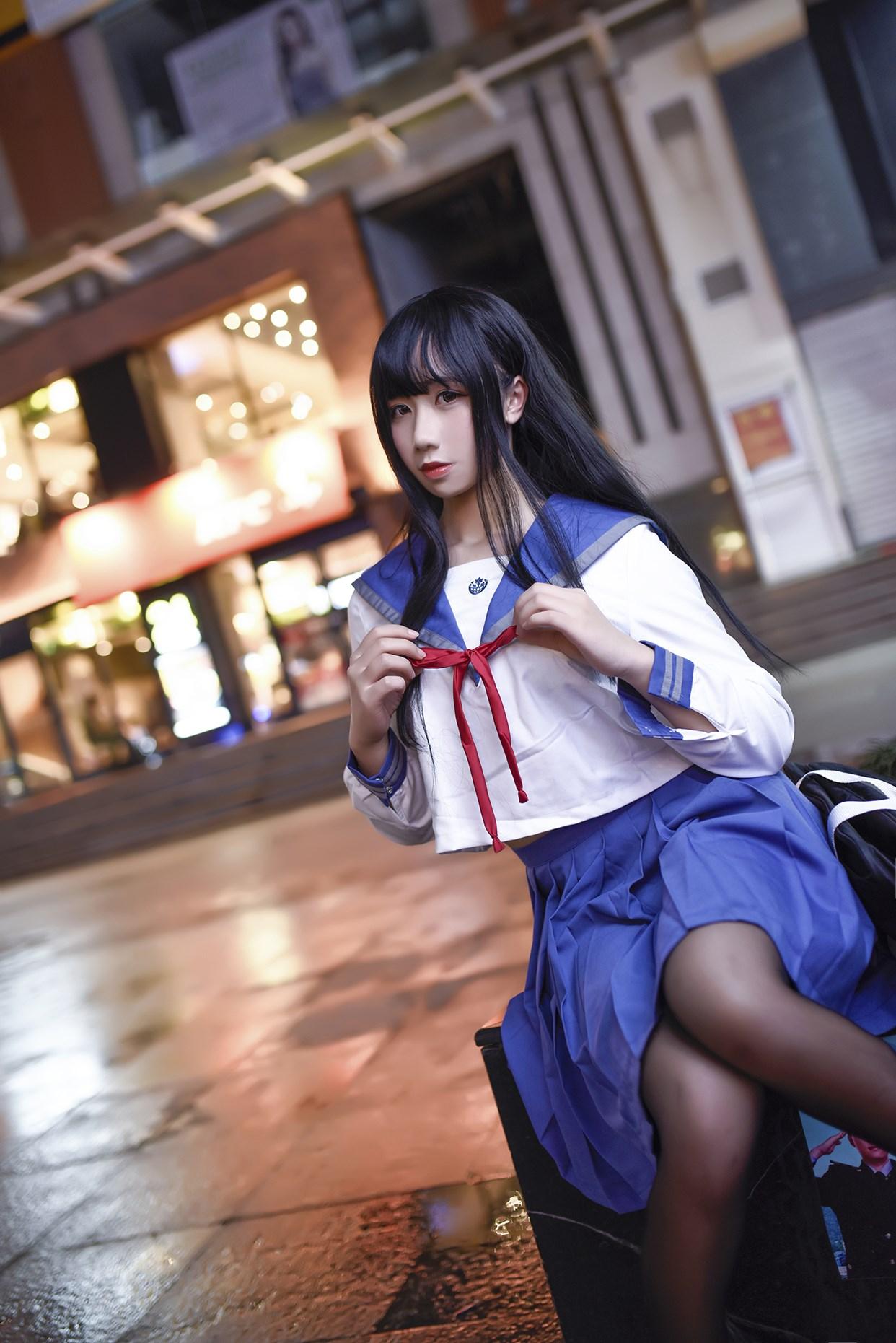 【兔玩映画】伞中少女 兔玩映画 第39张