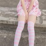【兔玩映画】粉白条纹 兔玩映画 第34张