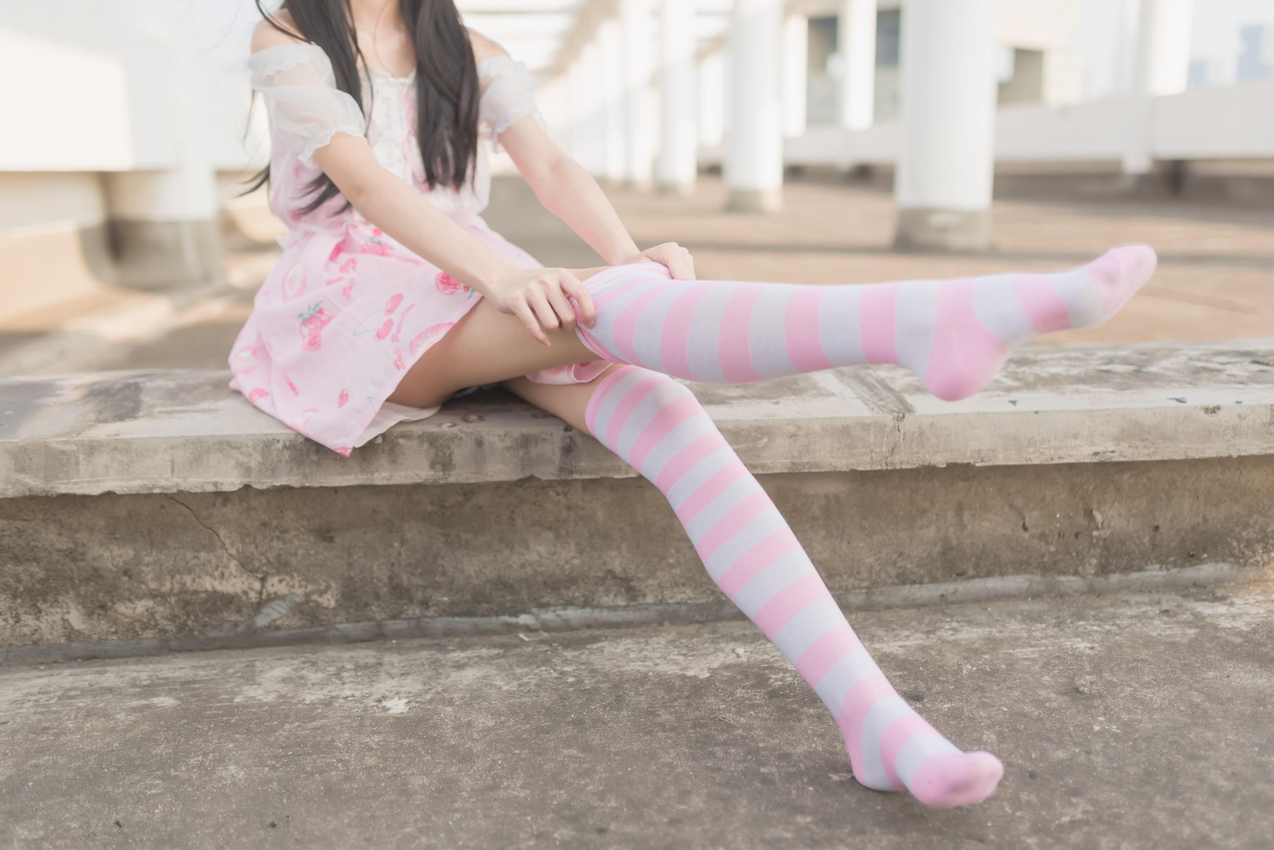 【兔玩映画】粉白条纹 兔玩映画 第32张