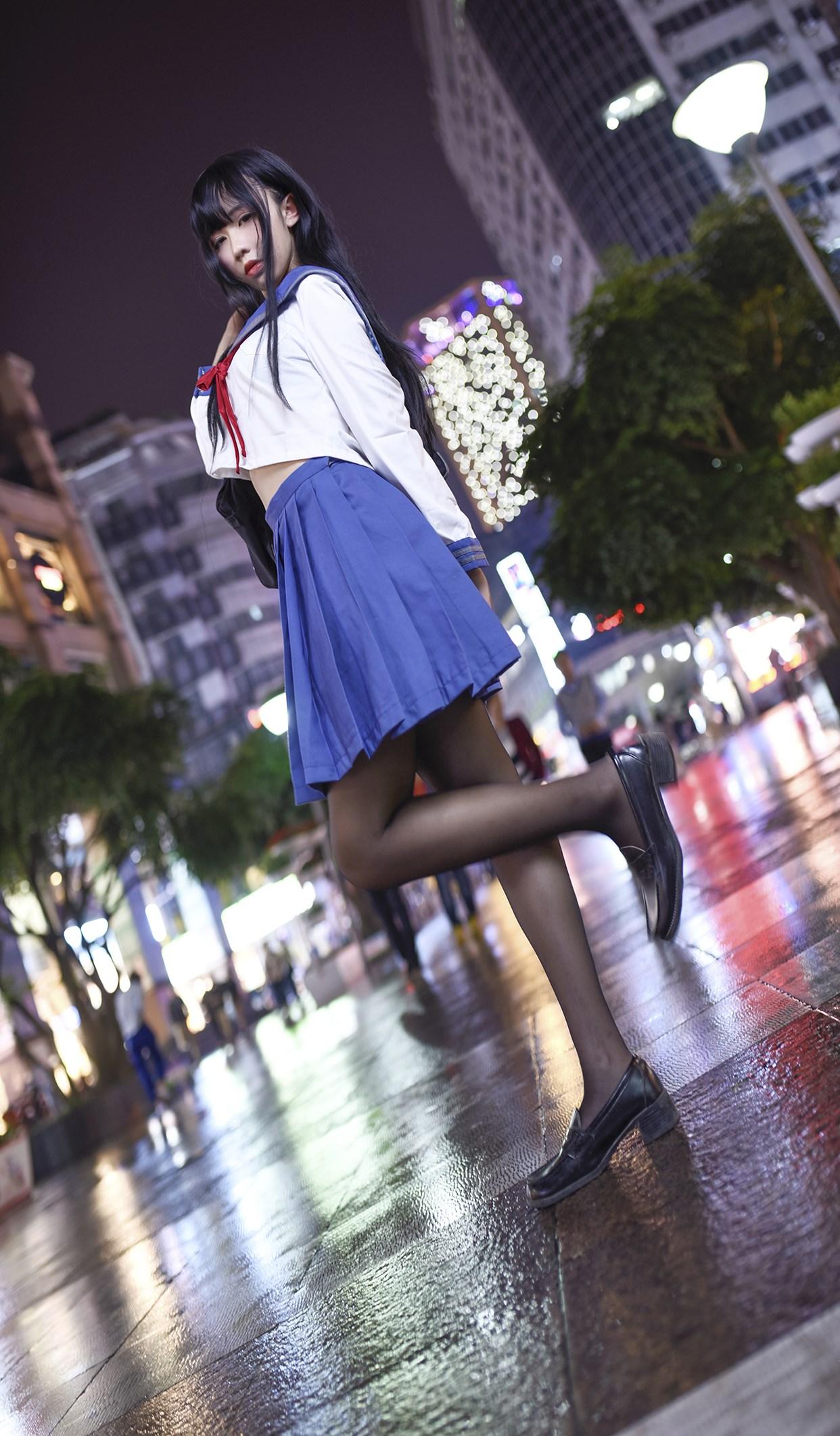 【兔玩映画】伞中少女 兔玩映画 第34张