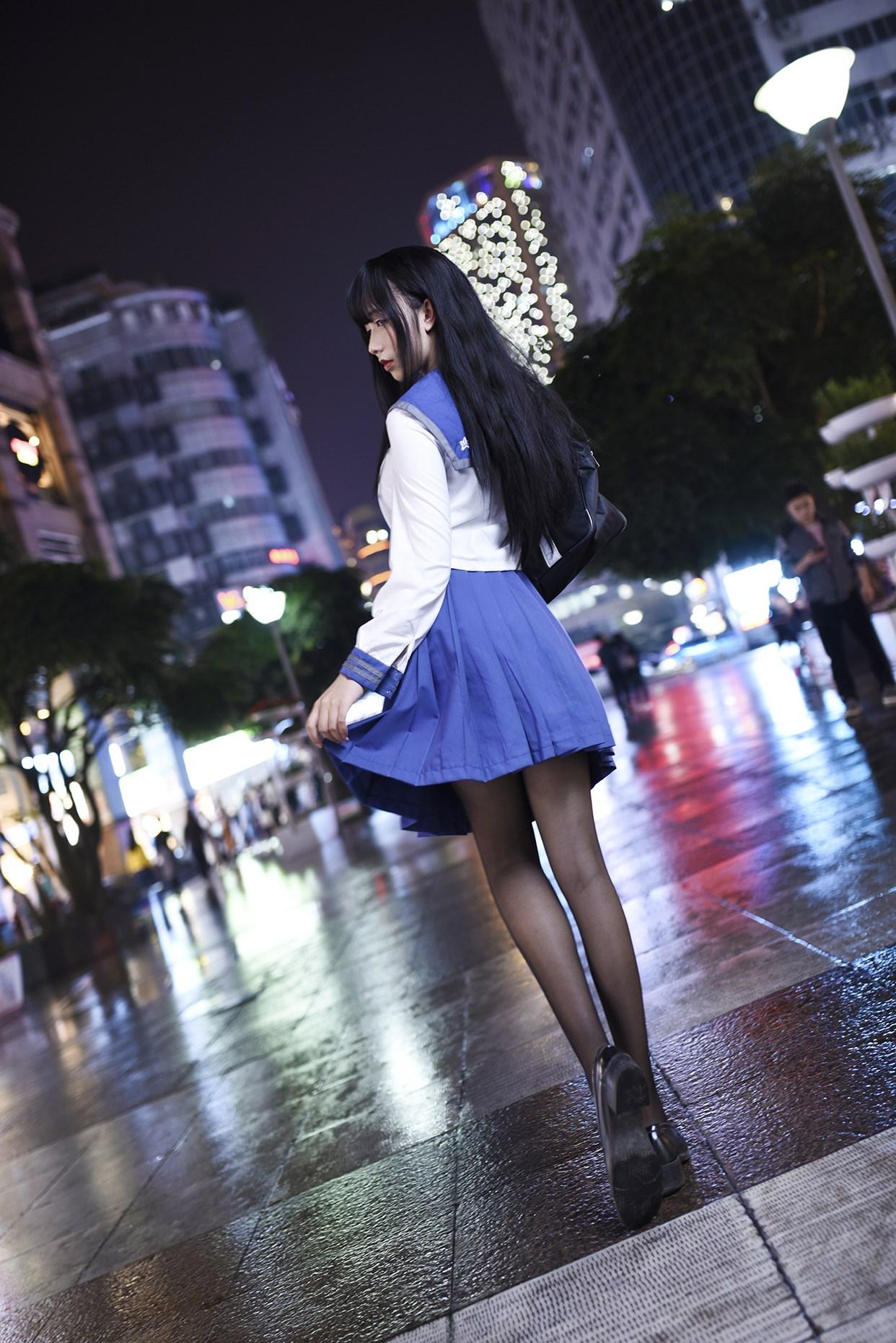【兔玩映画】伞中少女 兔玩映画 第33张