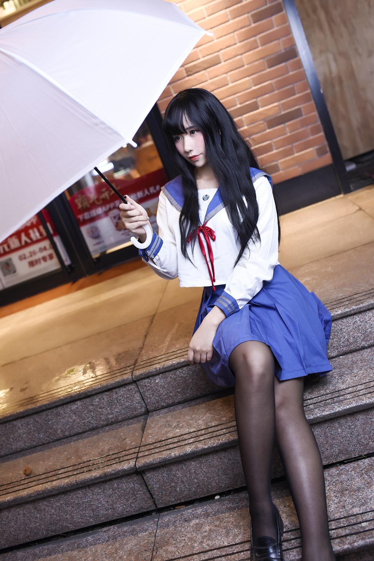 【兔玩映画】伞中少女 兔玩映画 第20张