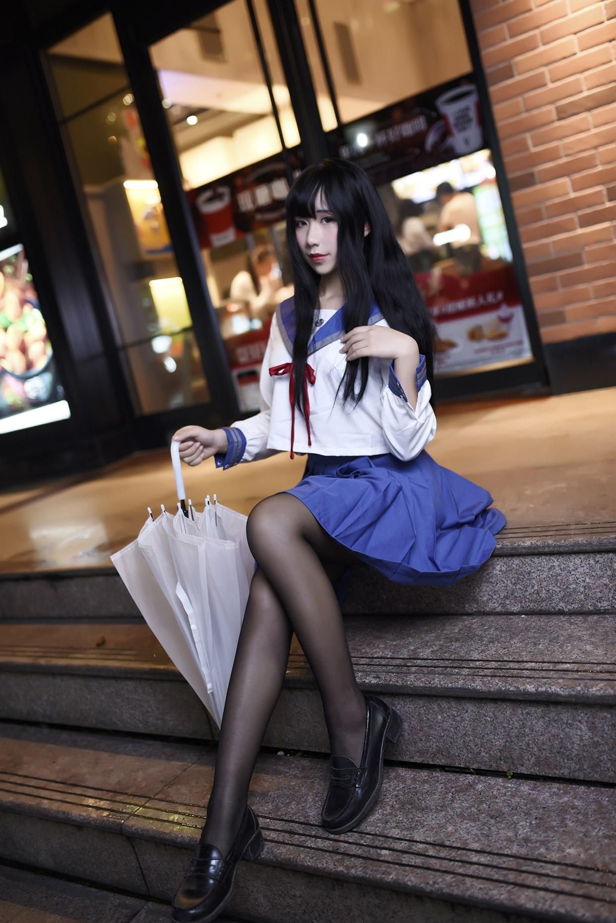 【兔玩映画】伞中少女 兔玩映画 第17张