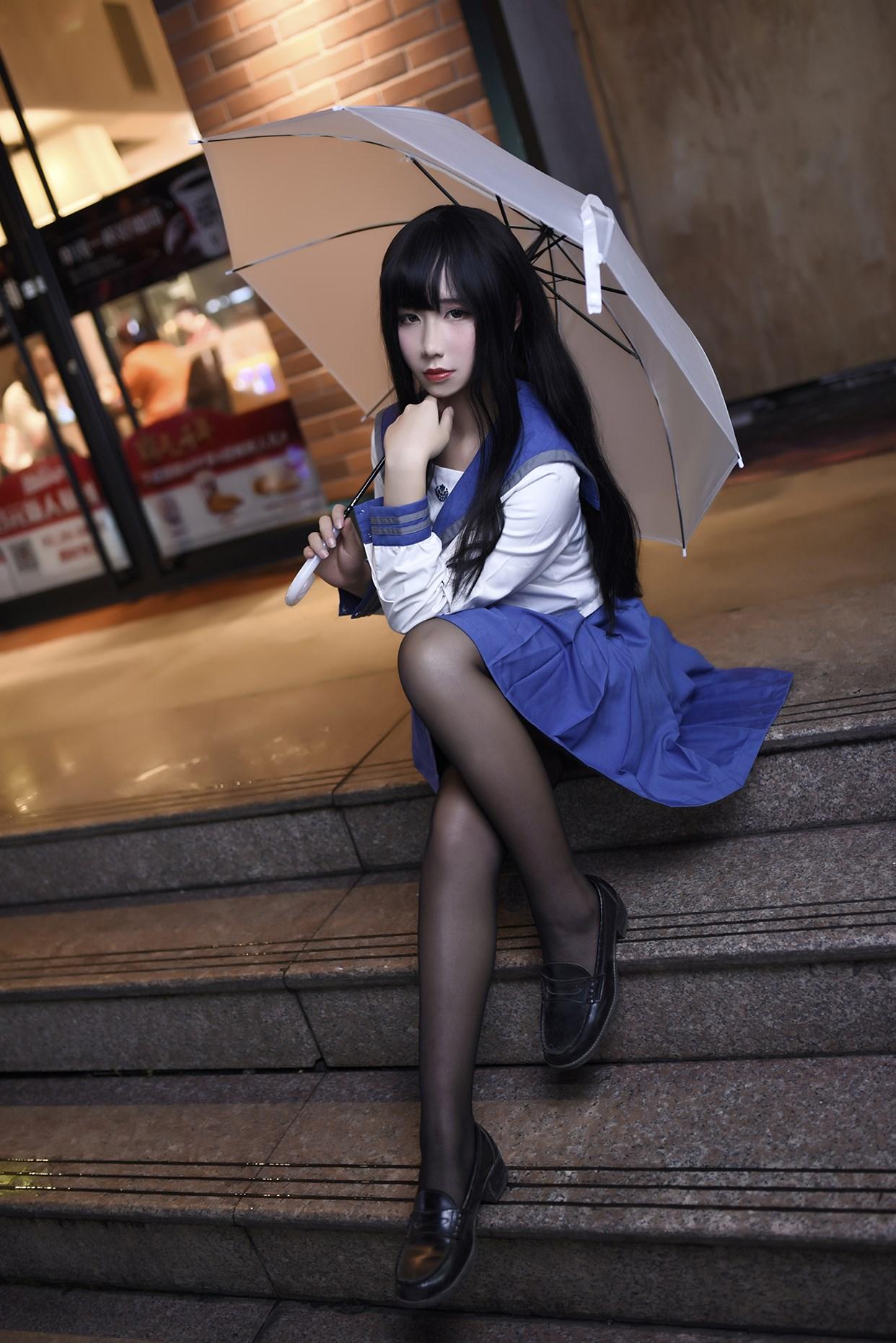 【兔玩映画】伞中少女 兔玩映画 第16张