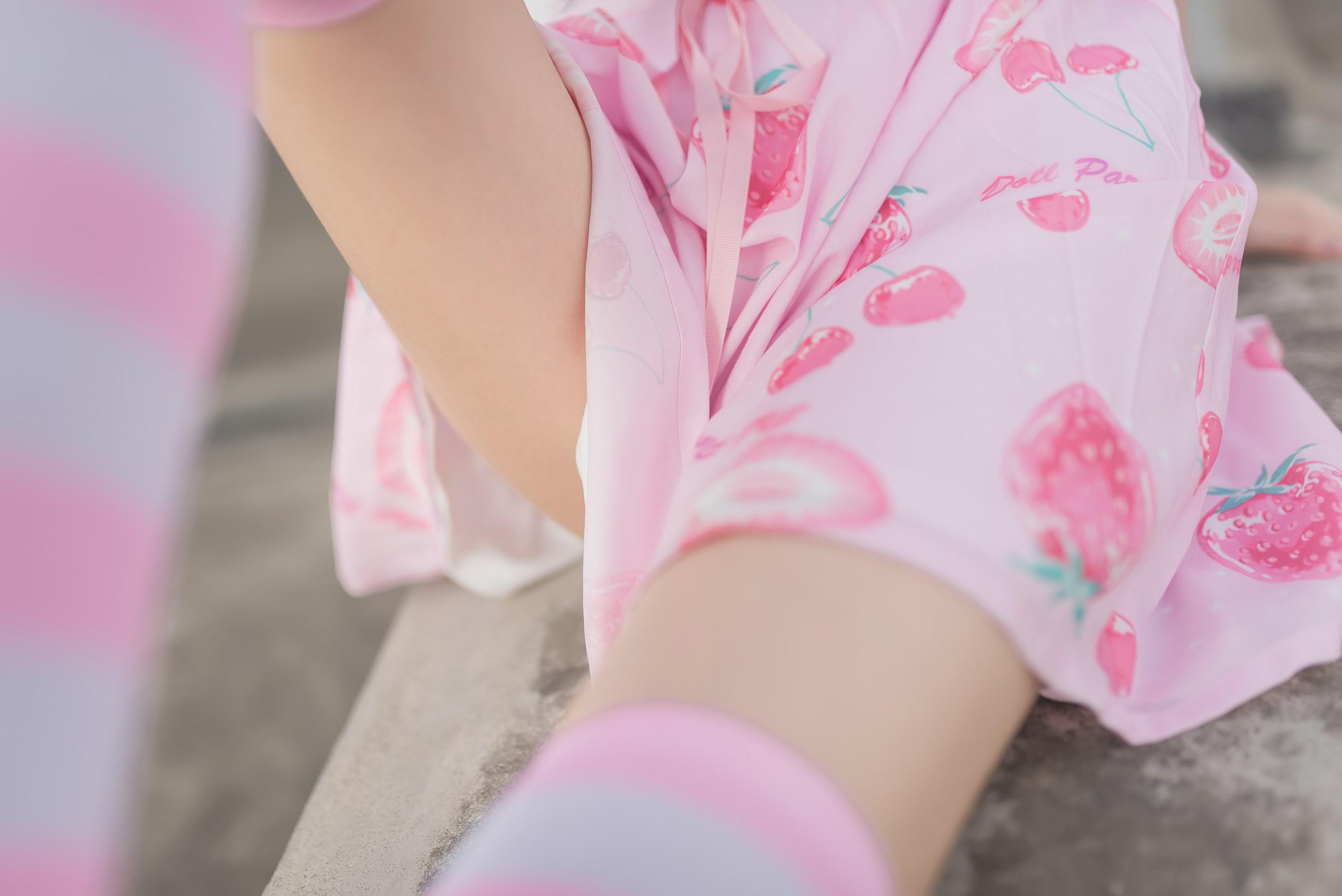 【兔玩映画】粉白条纹 兔玩映画 第13张