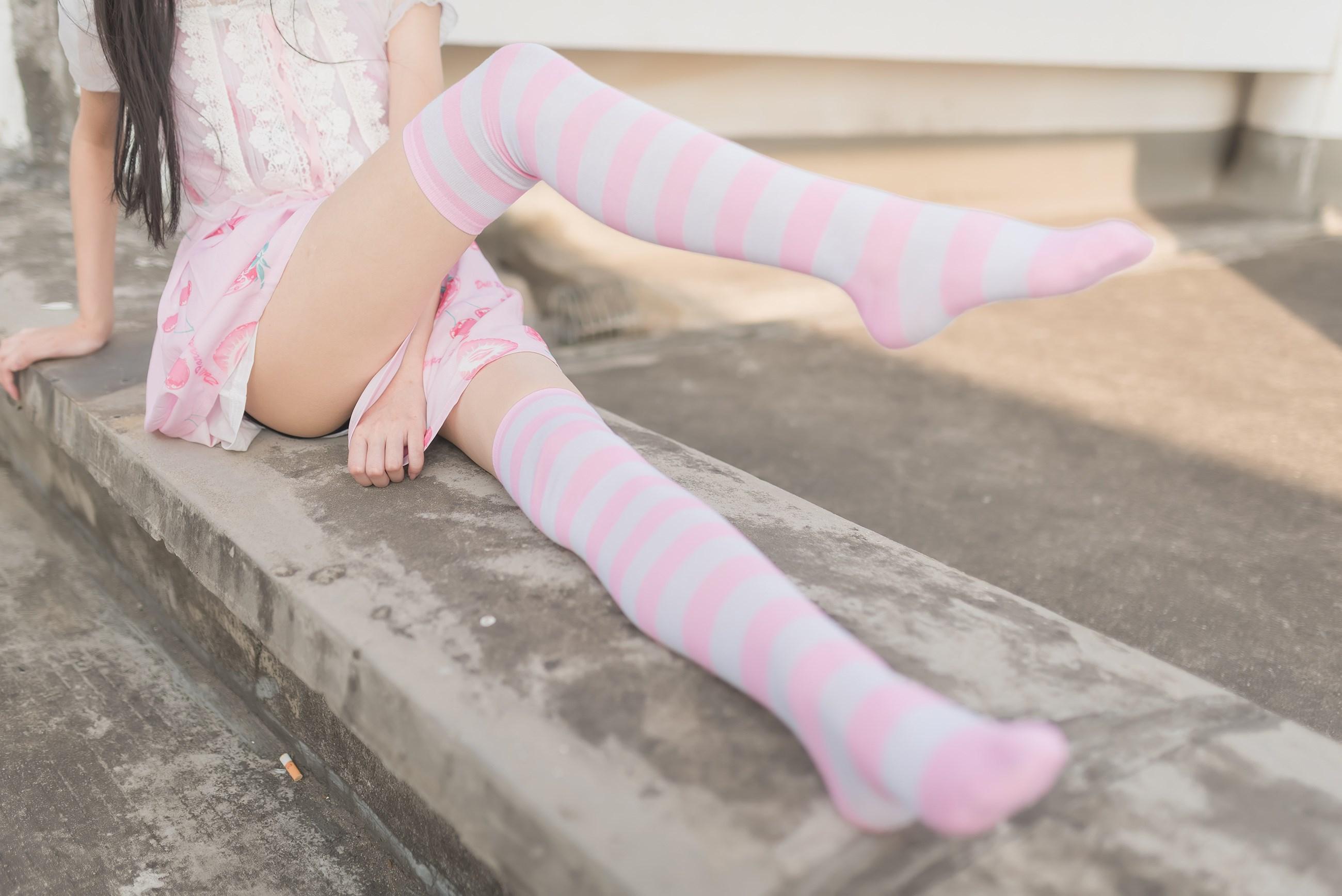 【兔玩映画】粉白条纹 兔玩映画 第12张