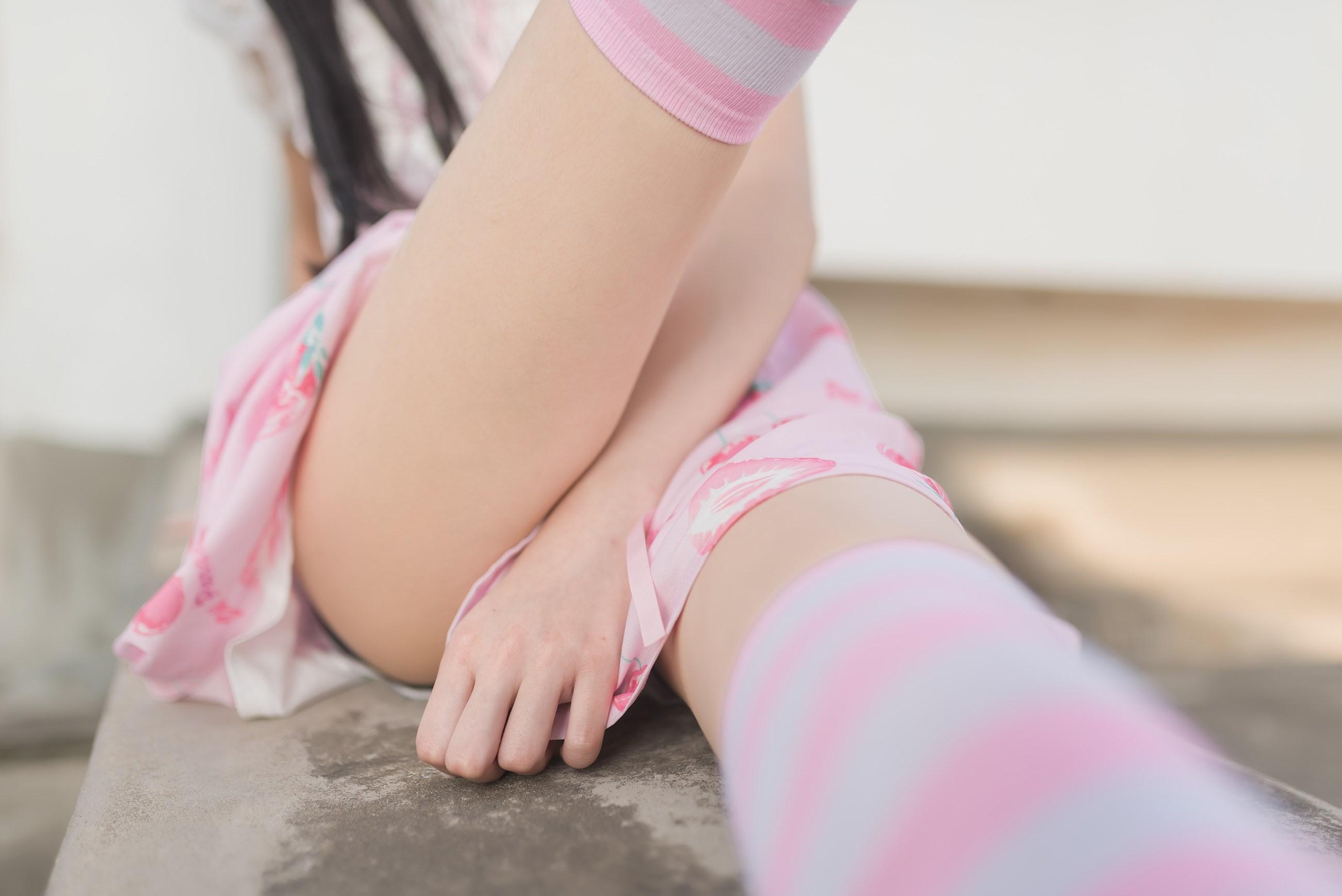 【兔玩映画】粉白条纹 兔玩映画 第11张