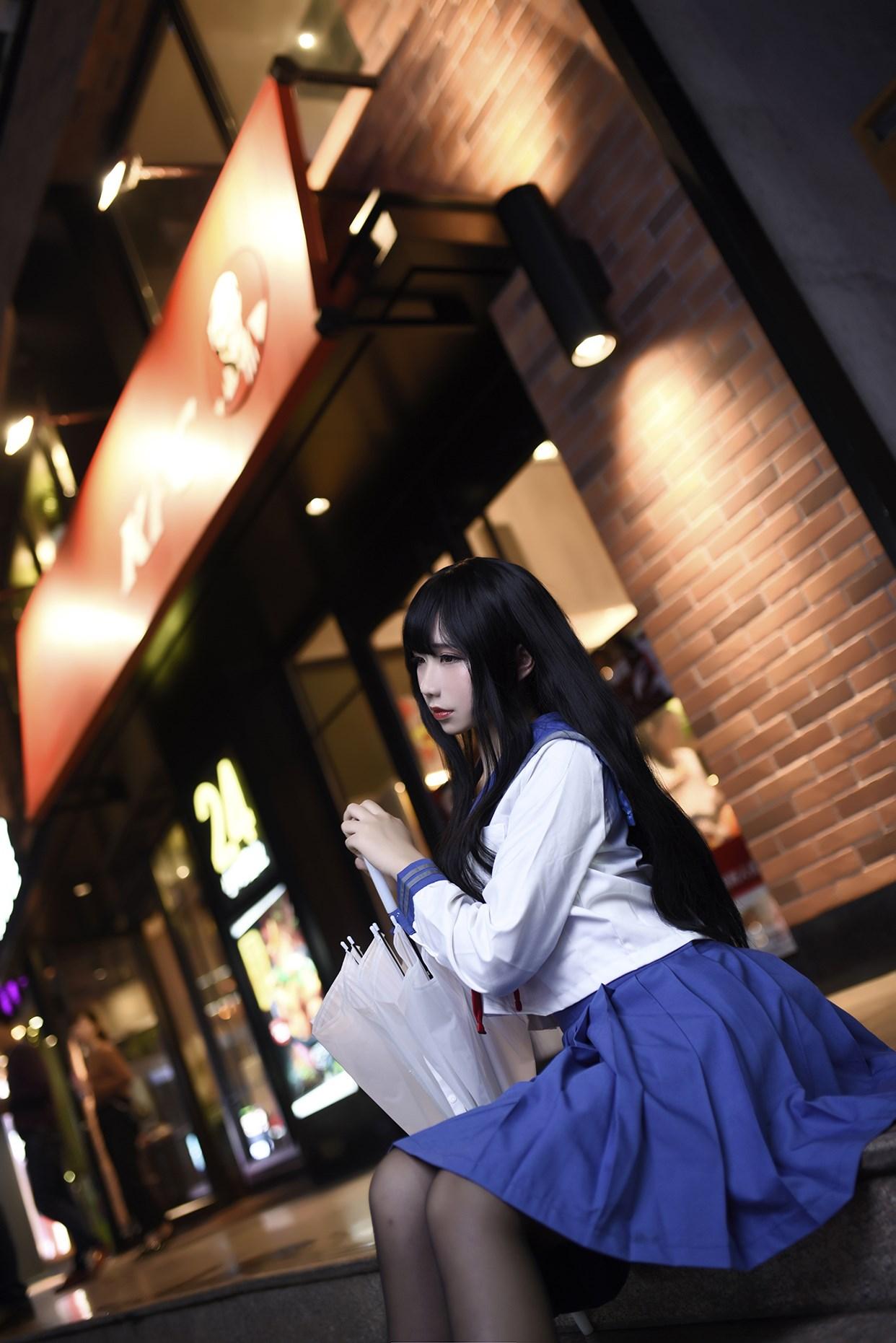 【兔玩映画】伞中少女 兔玩映画 第11张