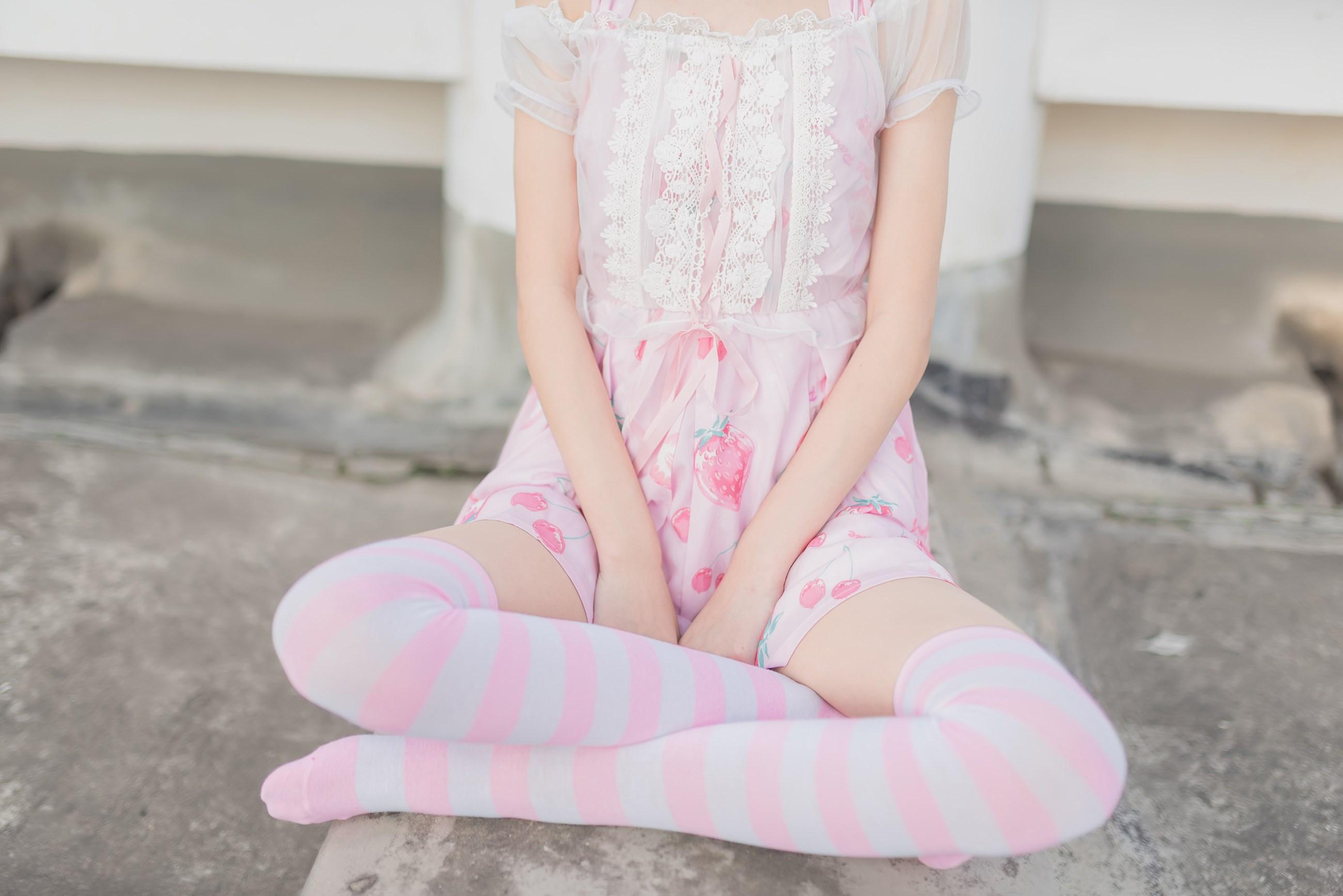 【兔玩映画】粉白条纹 兔玩映画 第9张