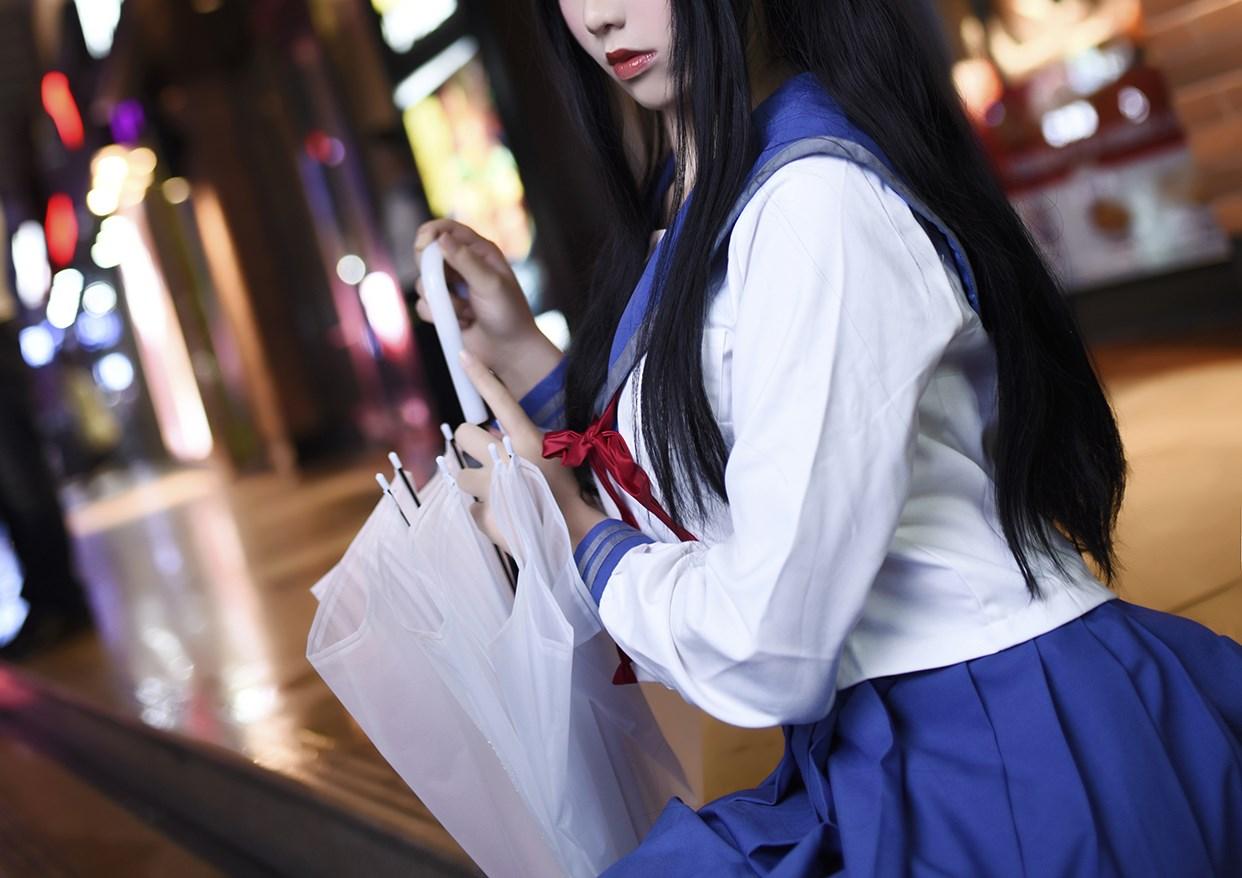【兔玩映画】伞中少女 兔玩映画 第10张