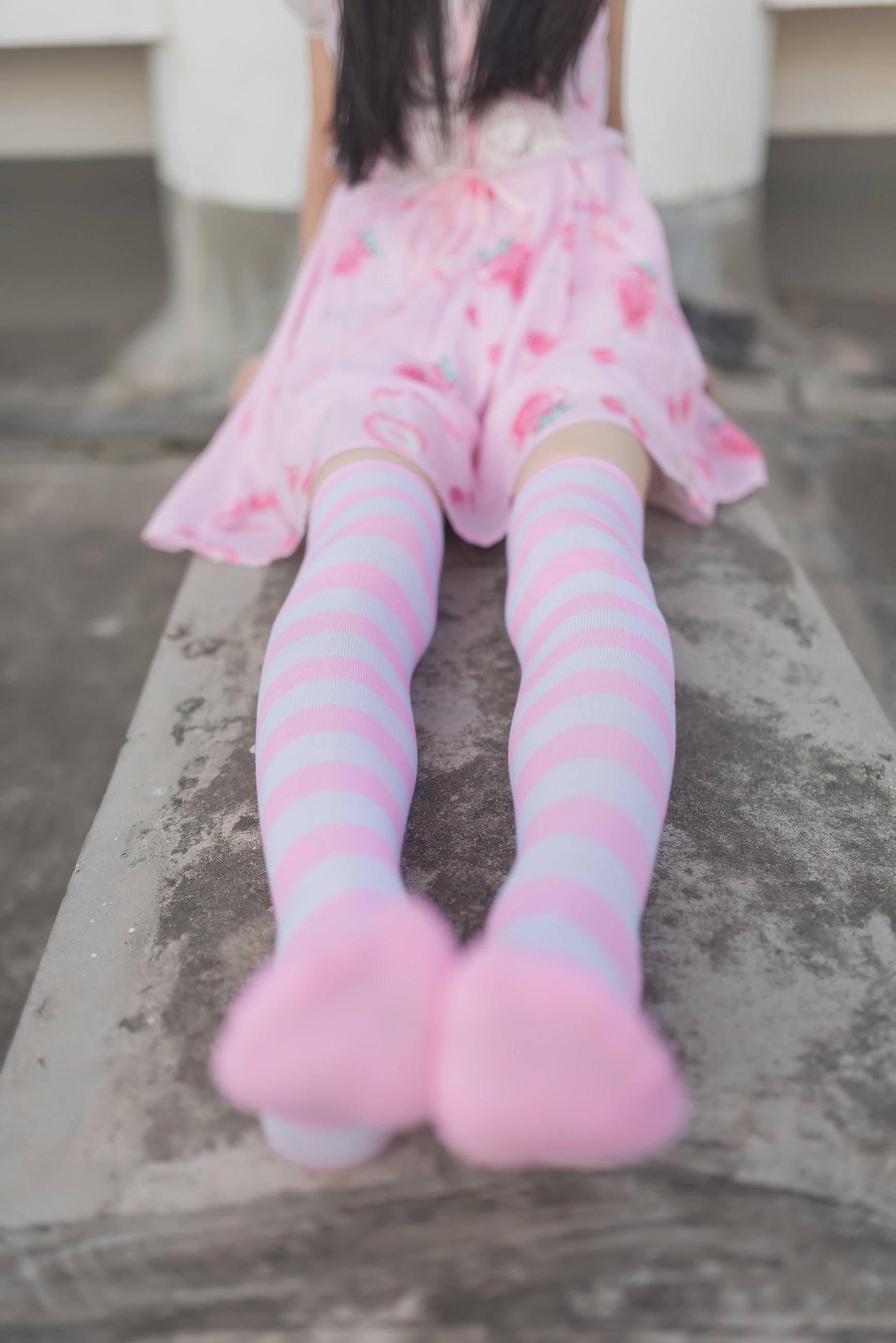 【兔玩映画】粉白条纹 兔玩映画 第7张