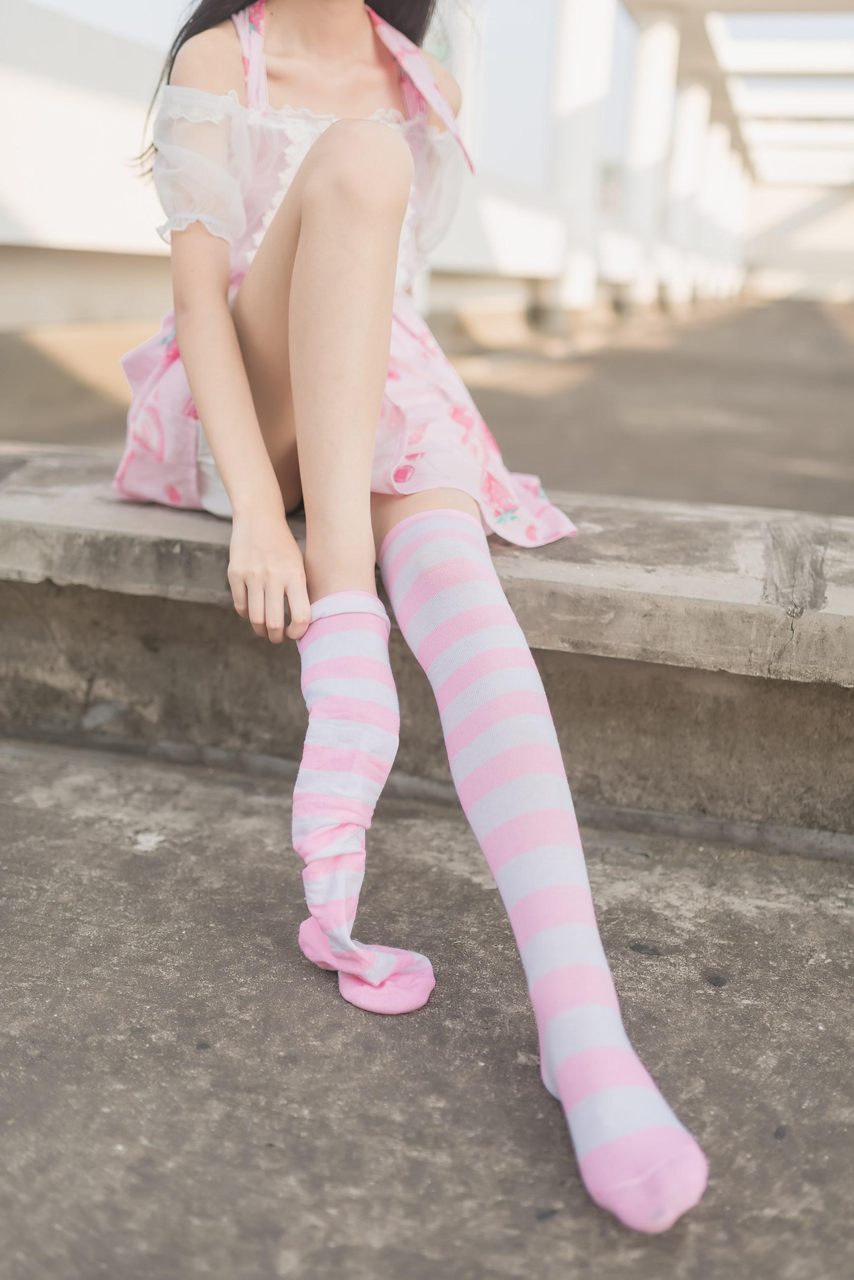 【兔玩映画】粉白条纹 兔玩映画 第5张