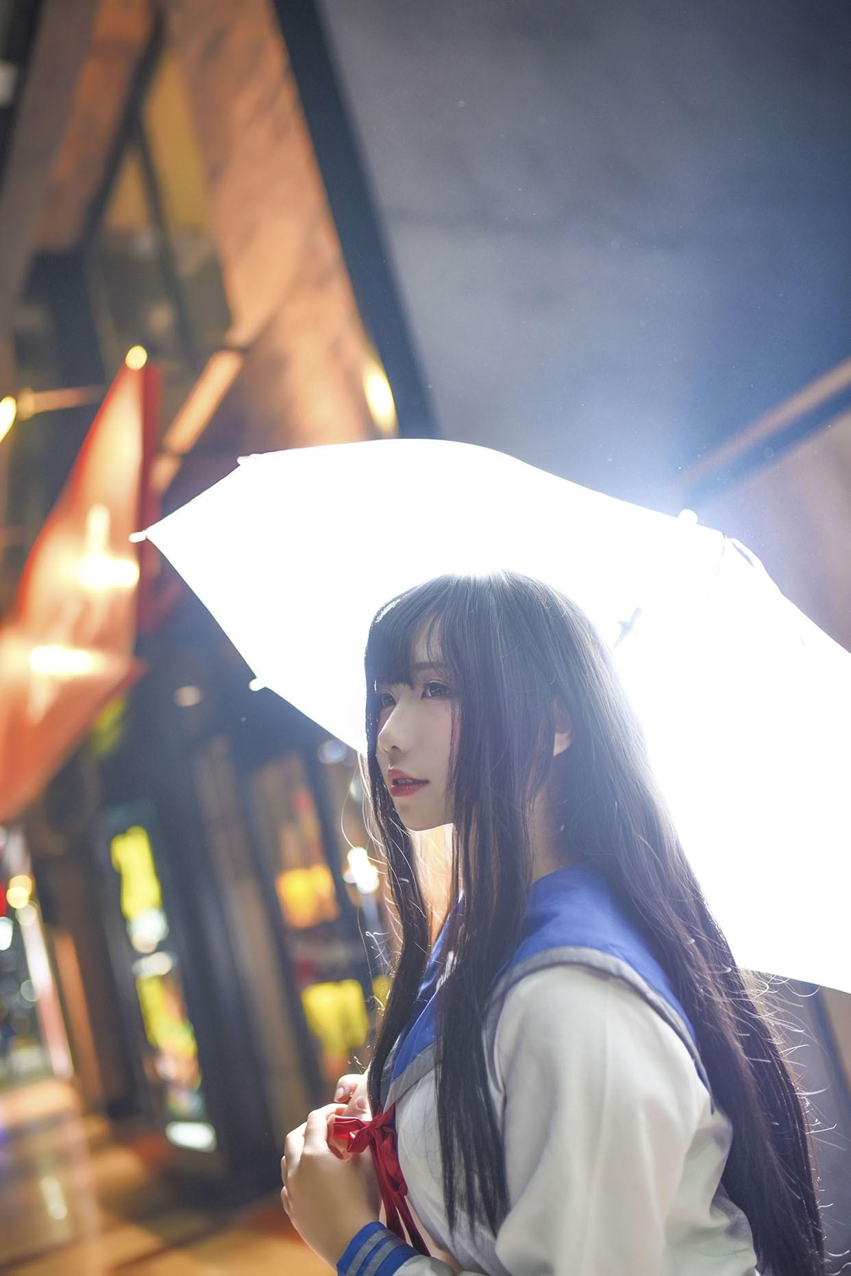 【兔玩映画】伞中少女 兔玩映画 第6张
