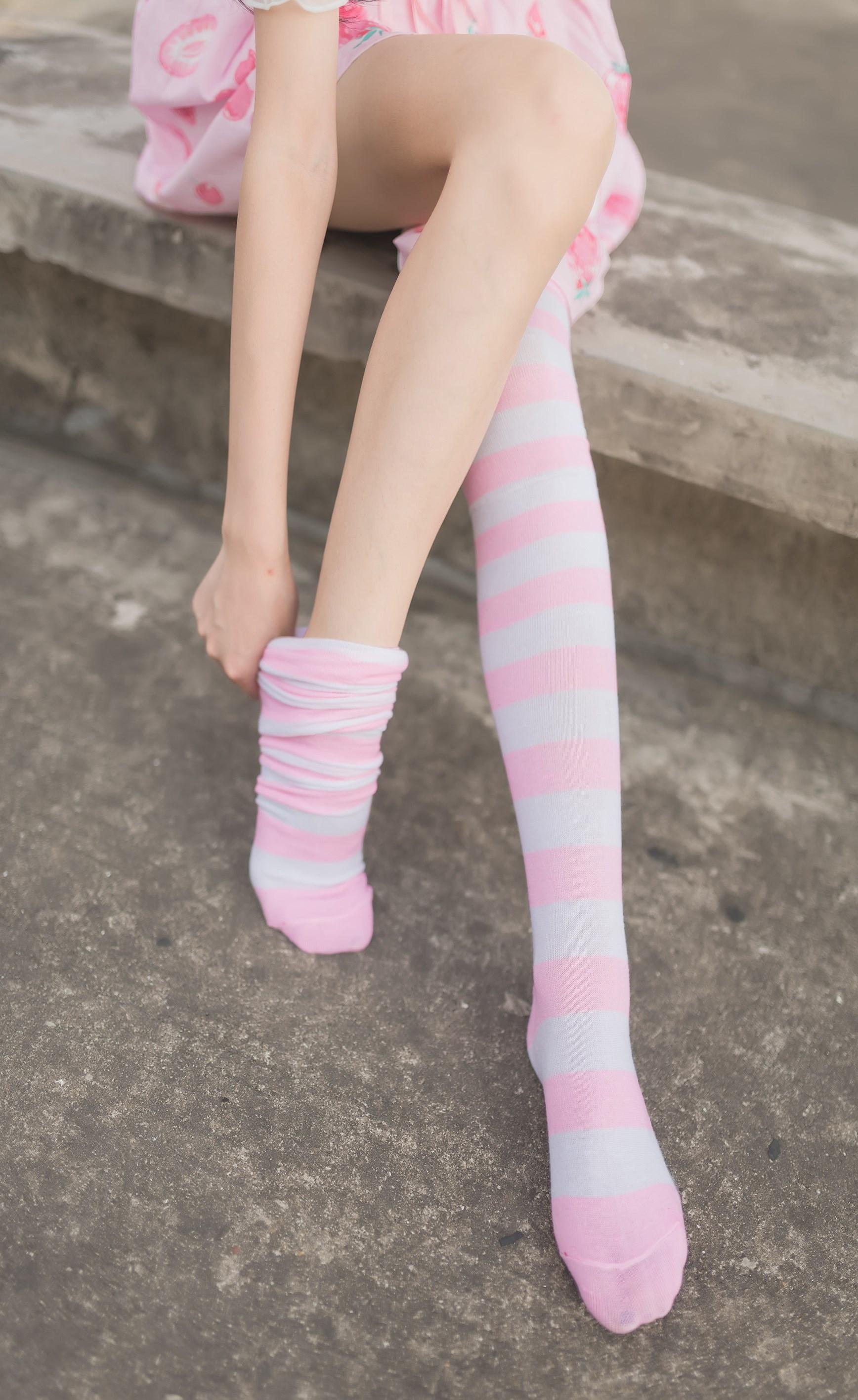 【兔玩映画】粉白条纹 兔玩映画 第4张