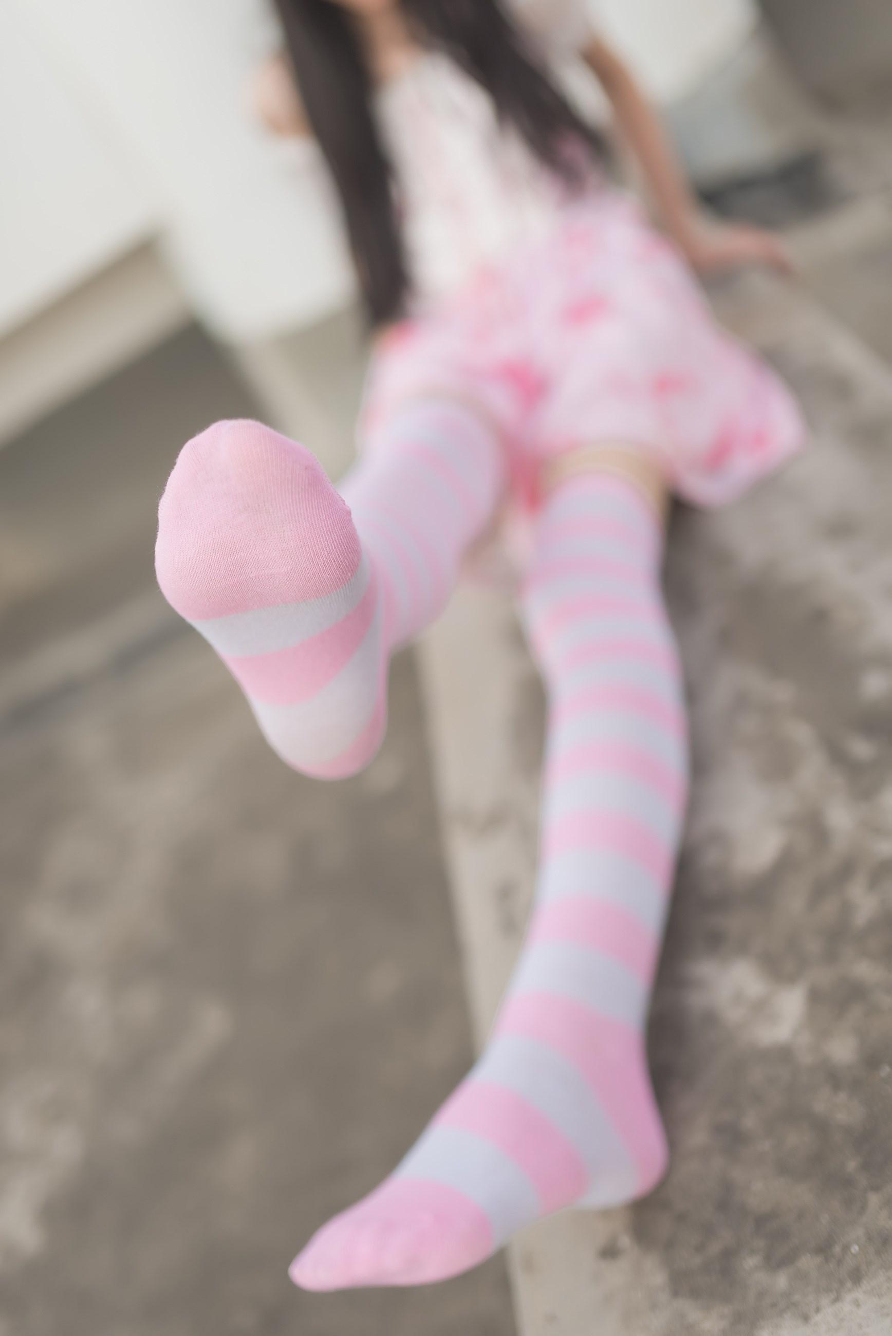 【兔玩映画】粉白条纹 兔玩映画 第3张