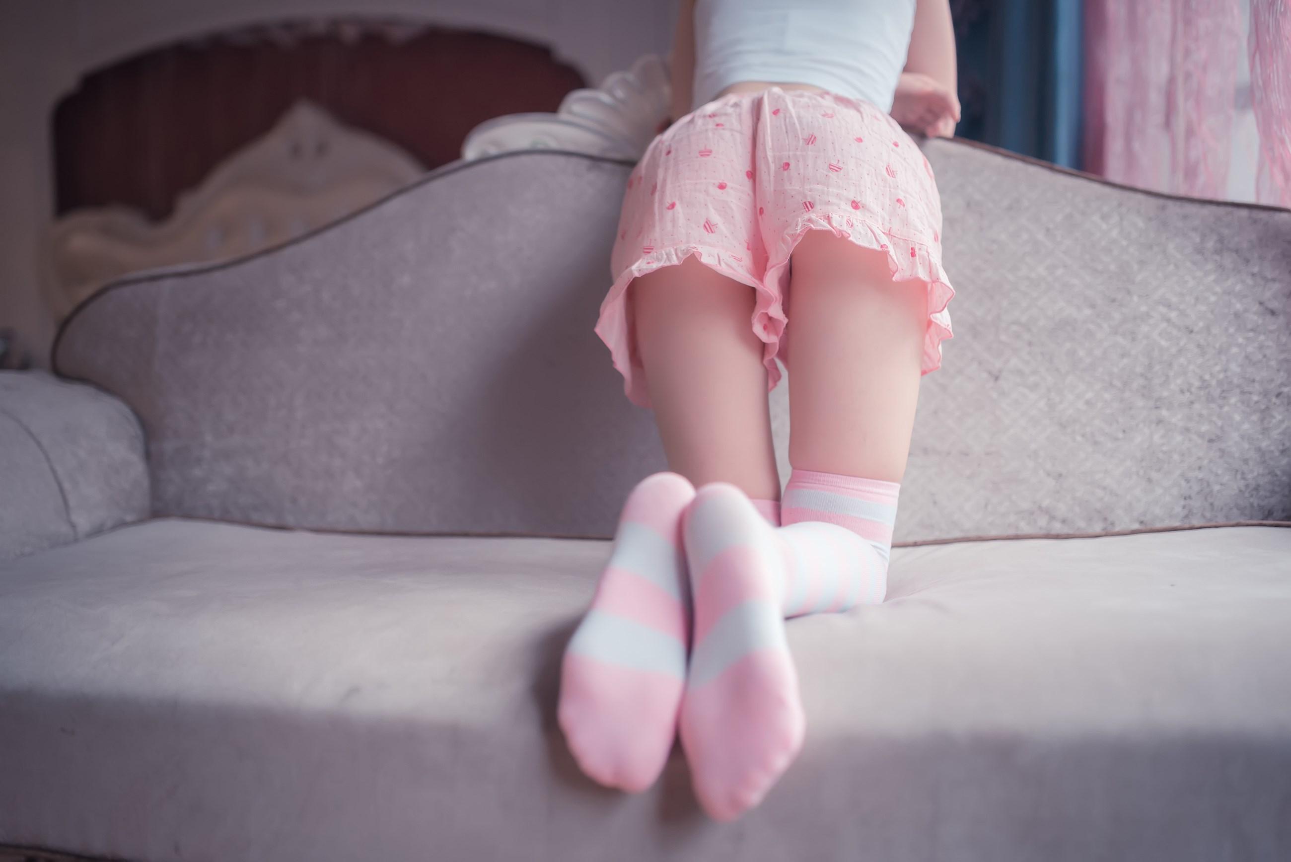 【兔玩映画】粉白条纹 兔玩映画 第43张