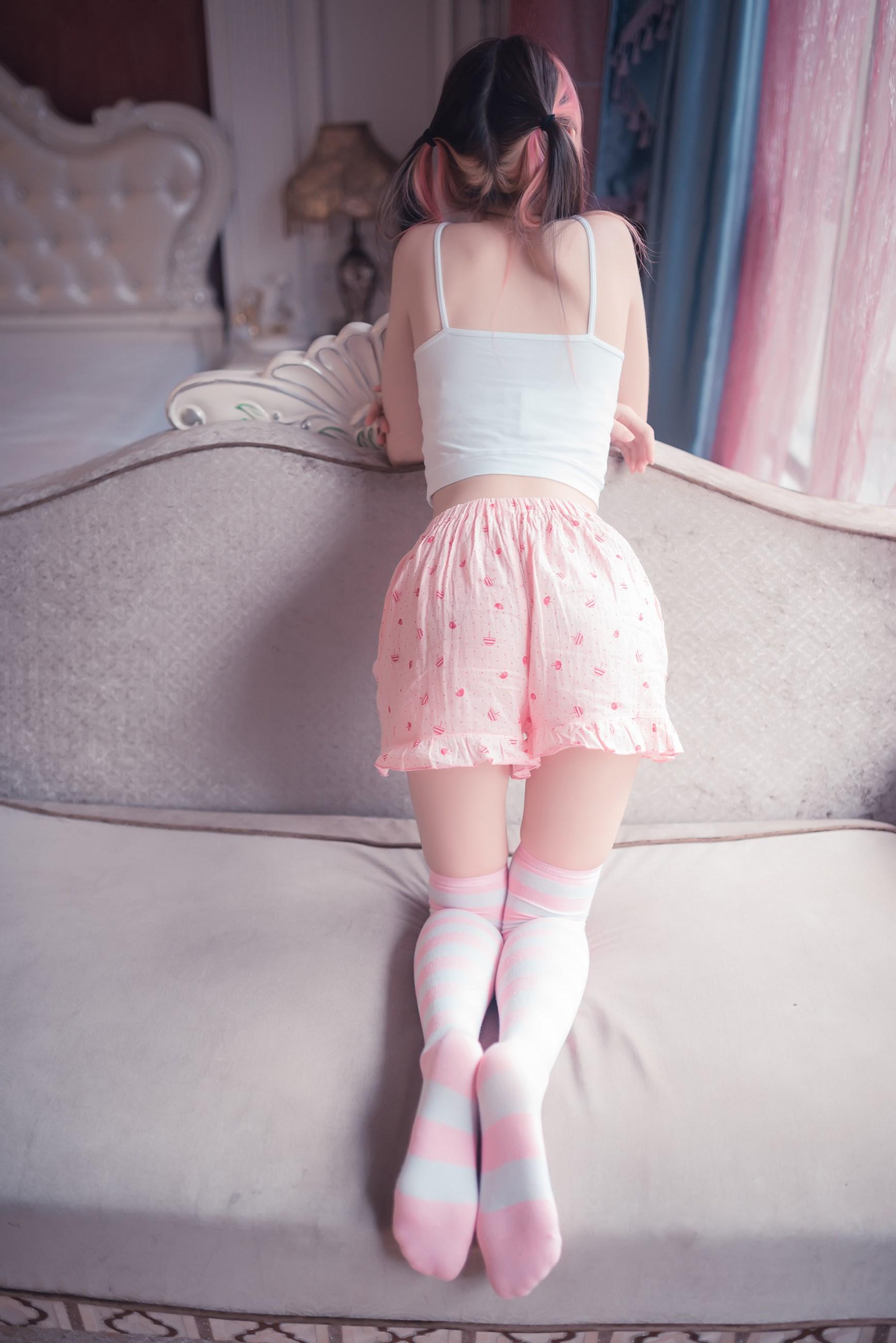 【兔玩映画】粉白条纹 兔玩映画 第42张