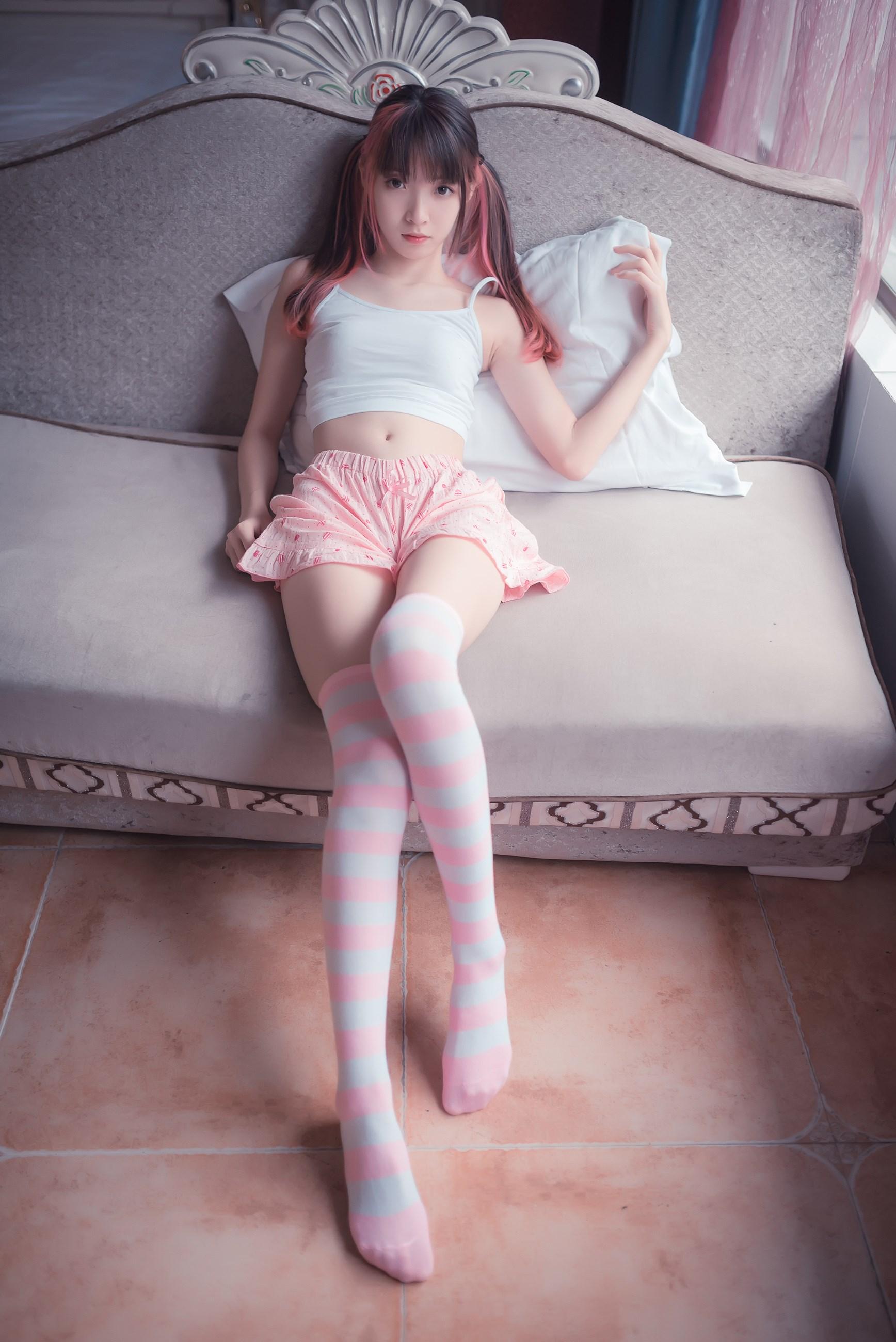 【兔玩映画】粉白条纹 兔玩映画 第36张